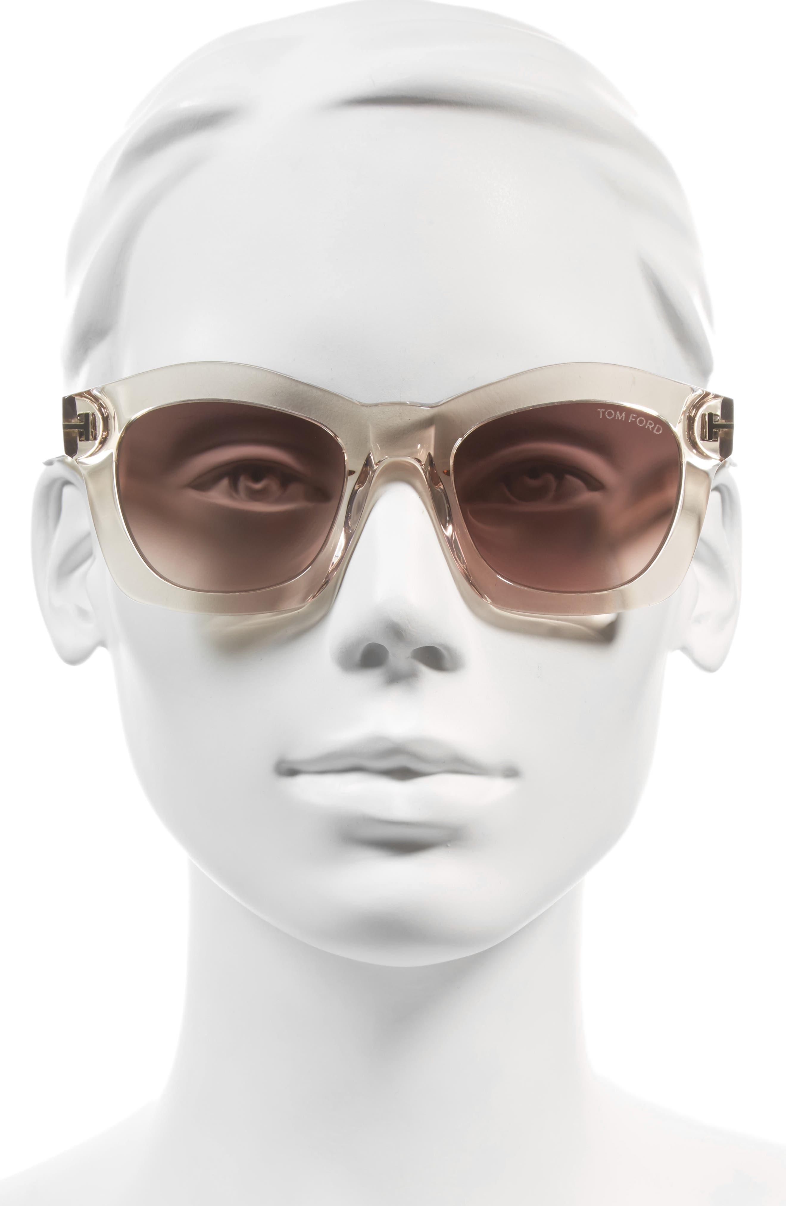 'Greta' 50mm Sunglasses,                             Alternate thumbnail 7, color,