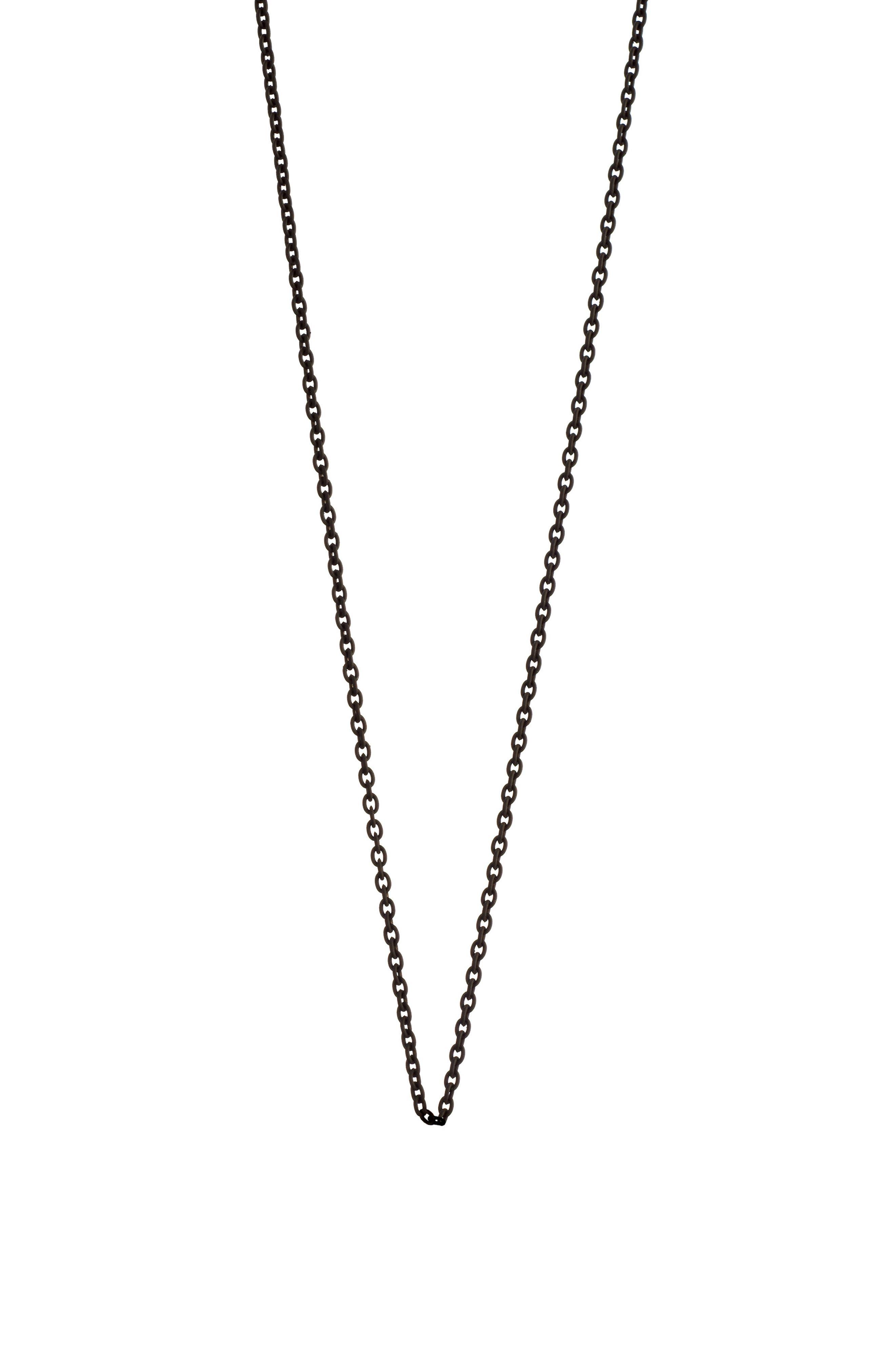 Black Steel Chain,                             Main thumbnail 1, color,                             BLACK STEEL