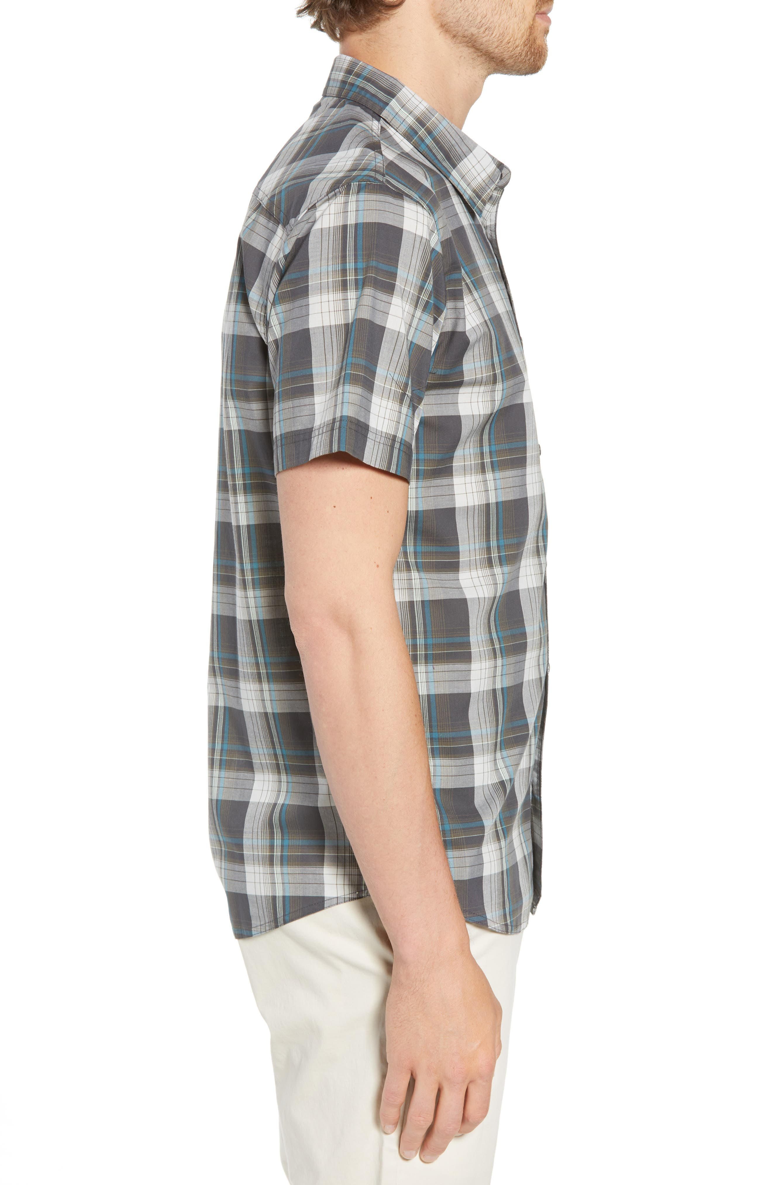 Gentry Short Sleeve Shirt,                             Alternate thumbnail 3, color,                             020