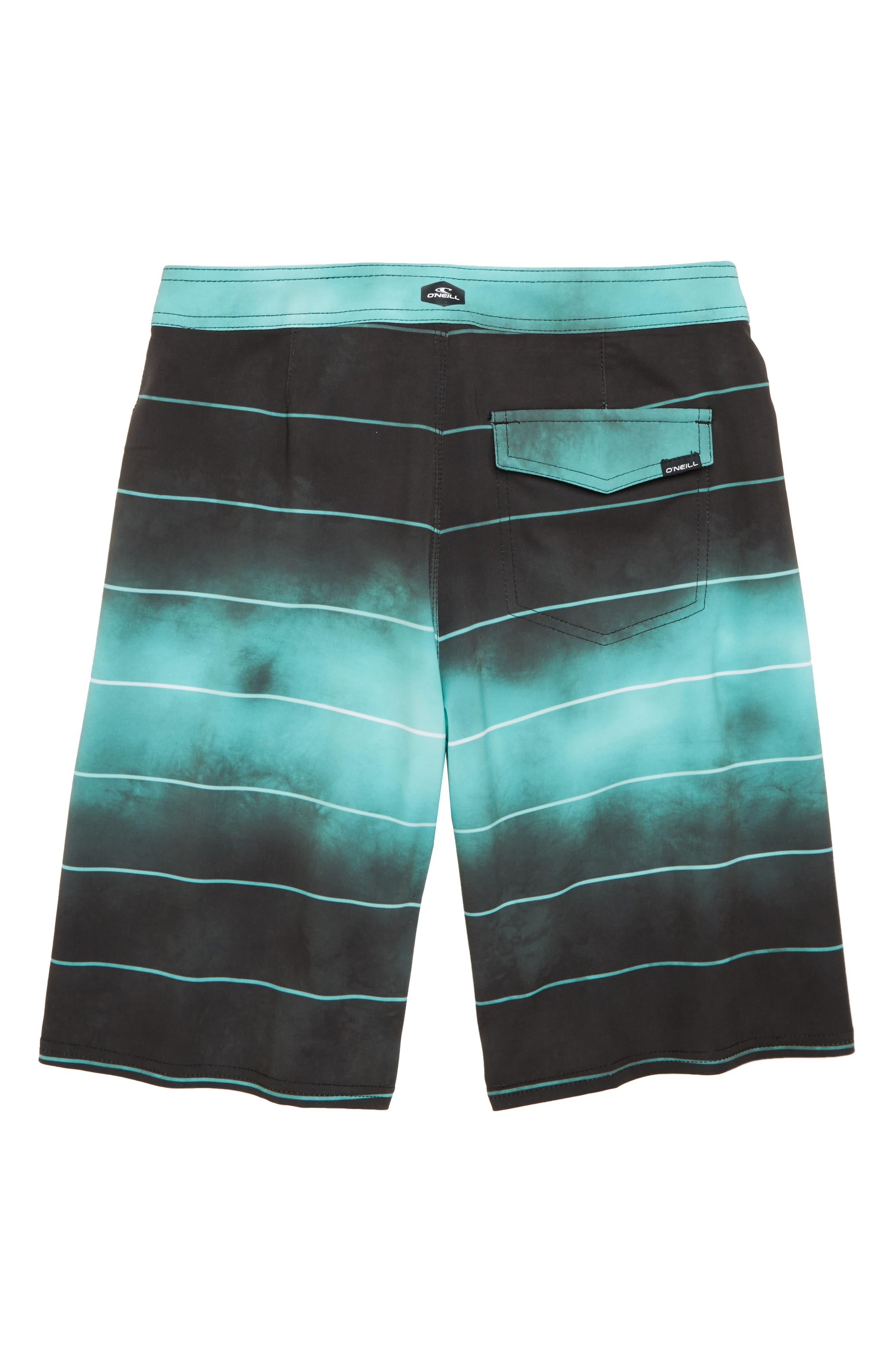 Hyperfreak Smokey Mirrors Board Shorts,                             Alternate thumbnail 2, color,                             001