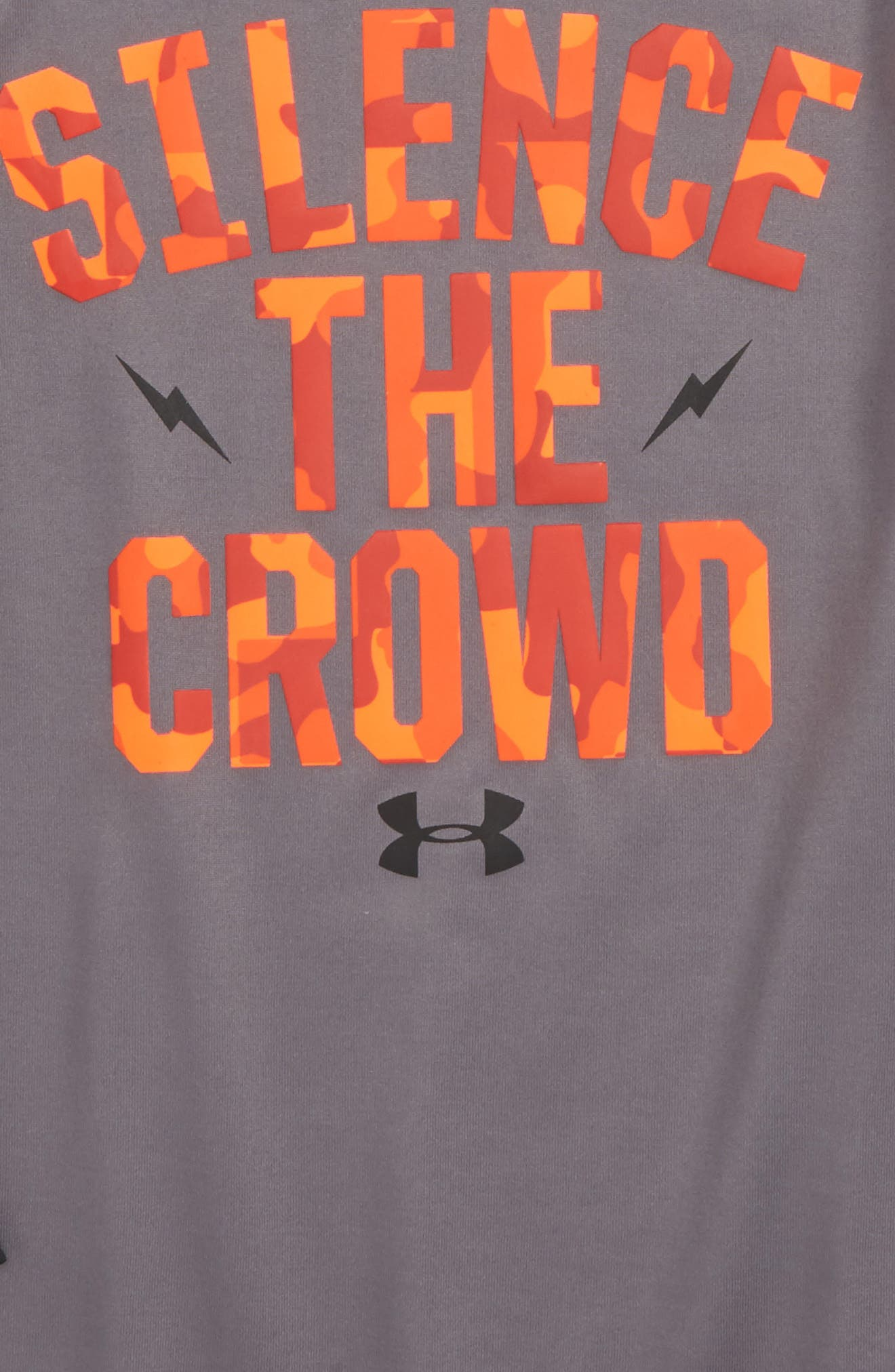 Silence The Crowd Graphic T-Shirt,                             Alternate thumbnail 2, color,                             033