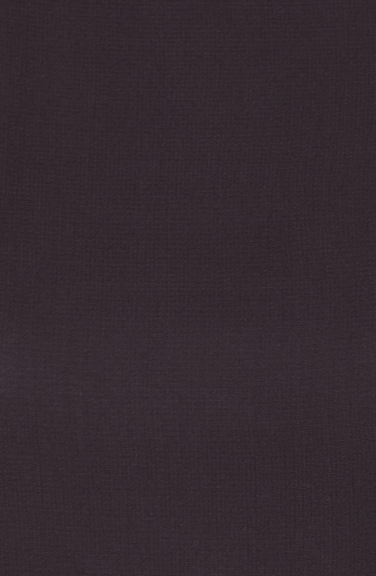 Lace & Chiffon Dress,                             Alternate thumbnail 5, color,                             001