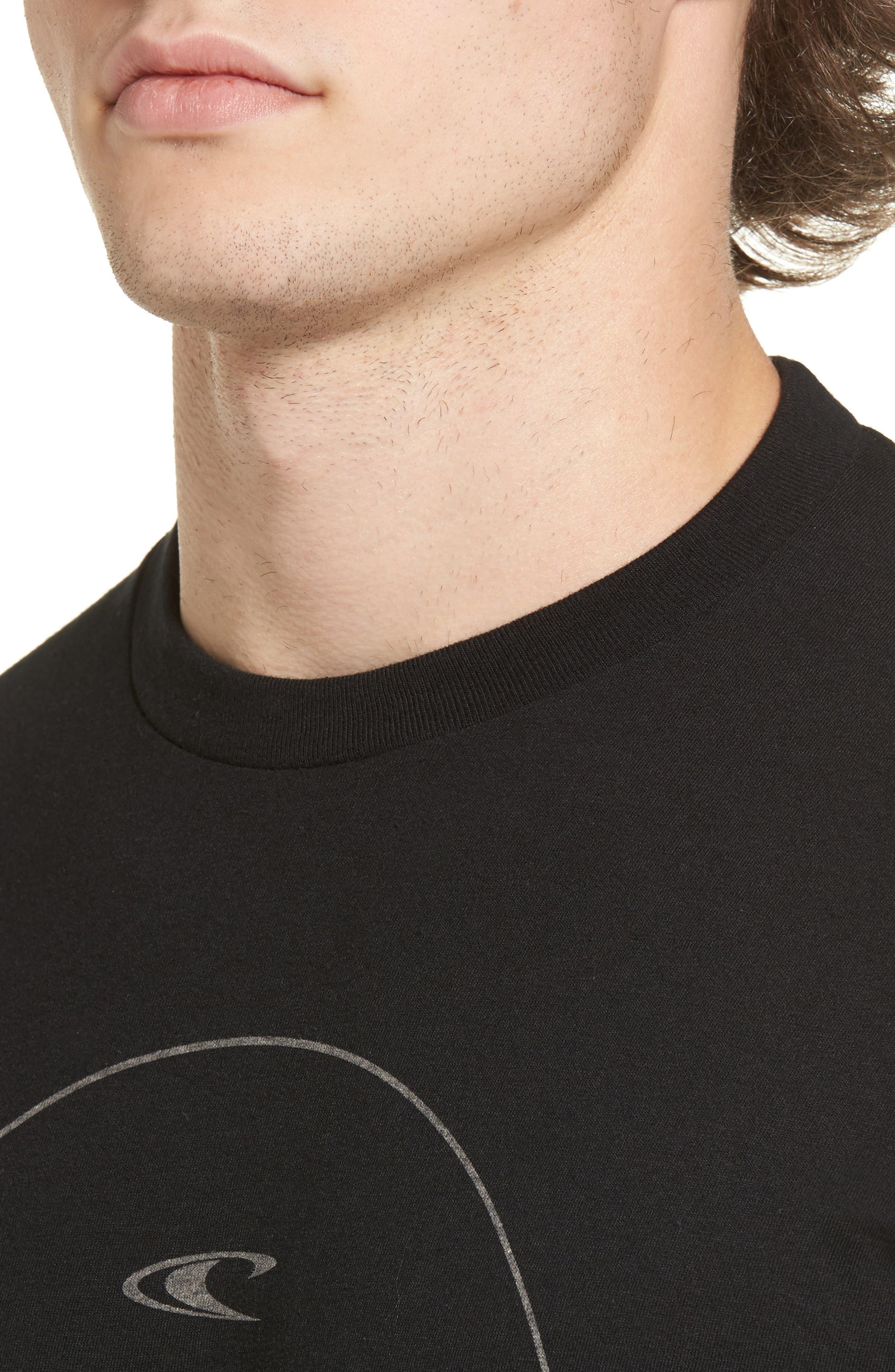 Agent Logo Graphic T-Shirt,                             Alternate thumbnail 4, color,                             003