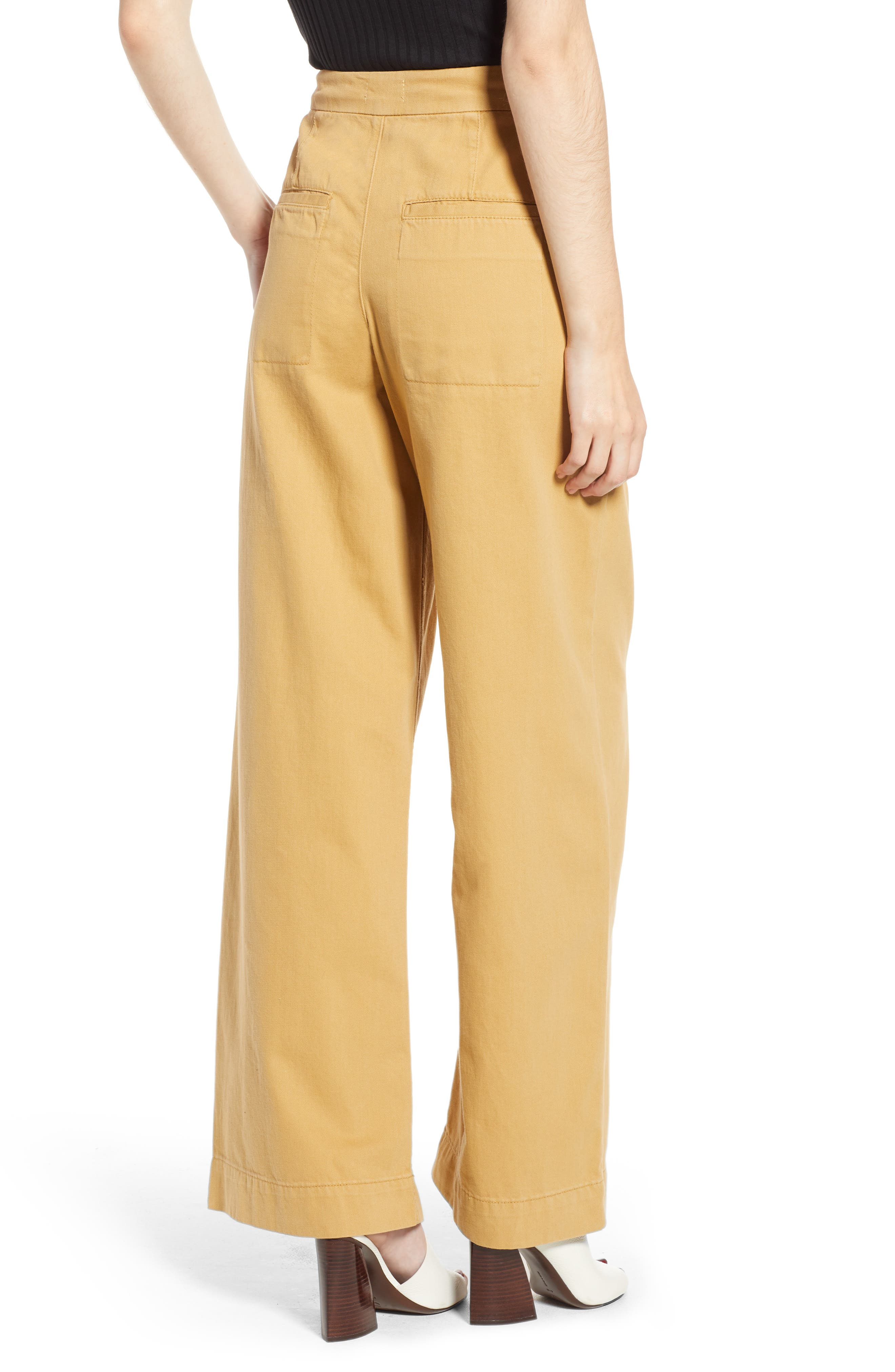 Wonder Wide Chino Trousers,                             Alternate thumbnail 2, color,                             250