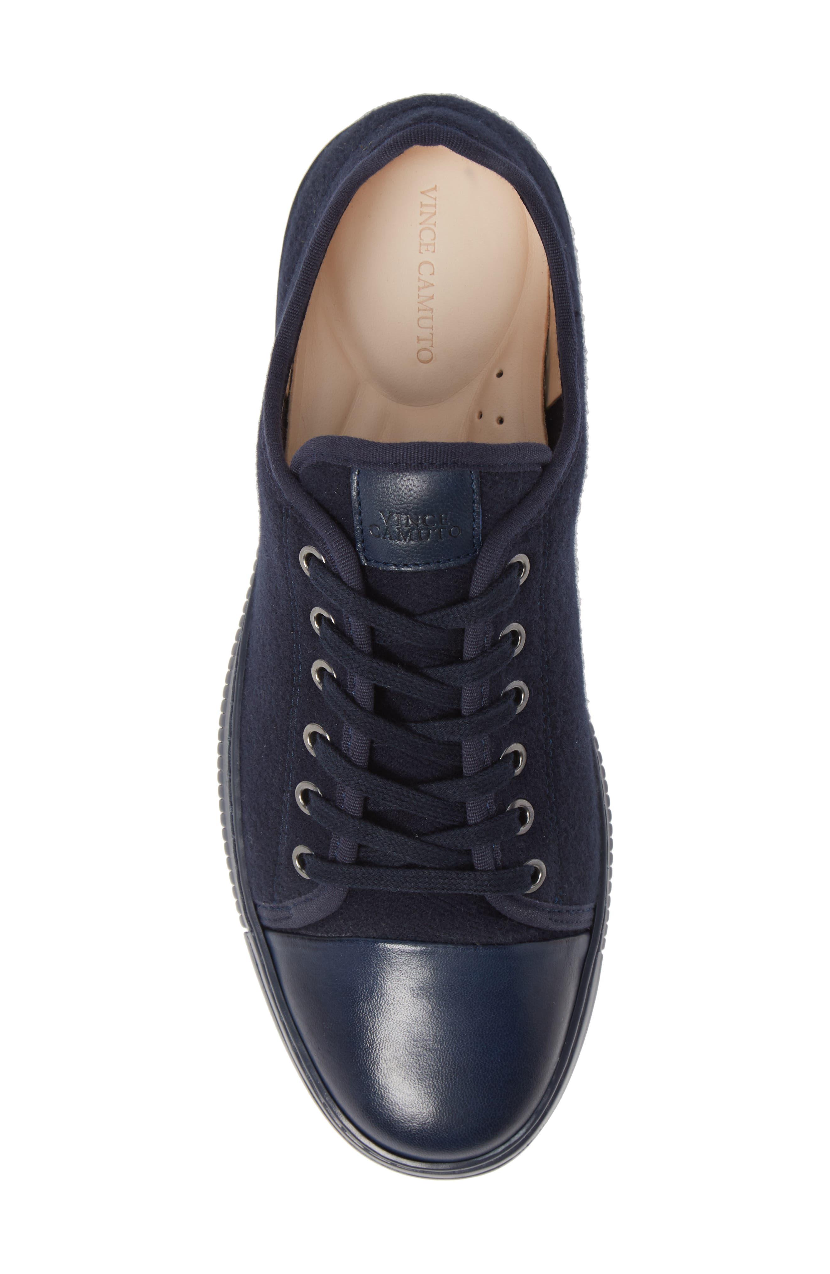 Jovani Sneaker,                             Alternate thumbnail 5, color,                             BLUE FABRIC