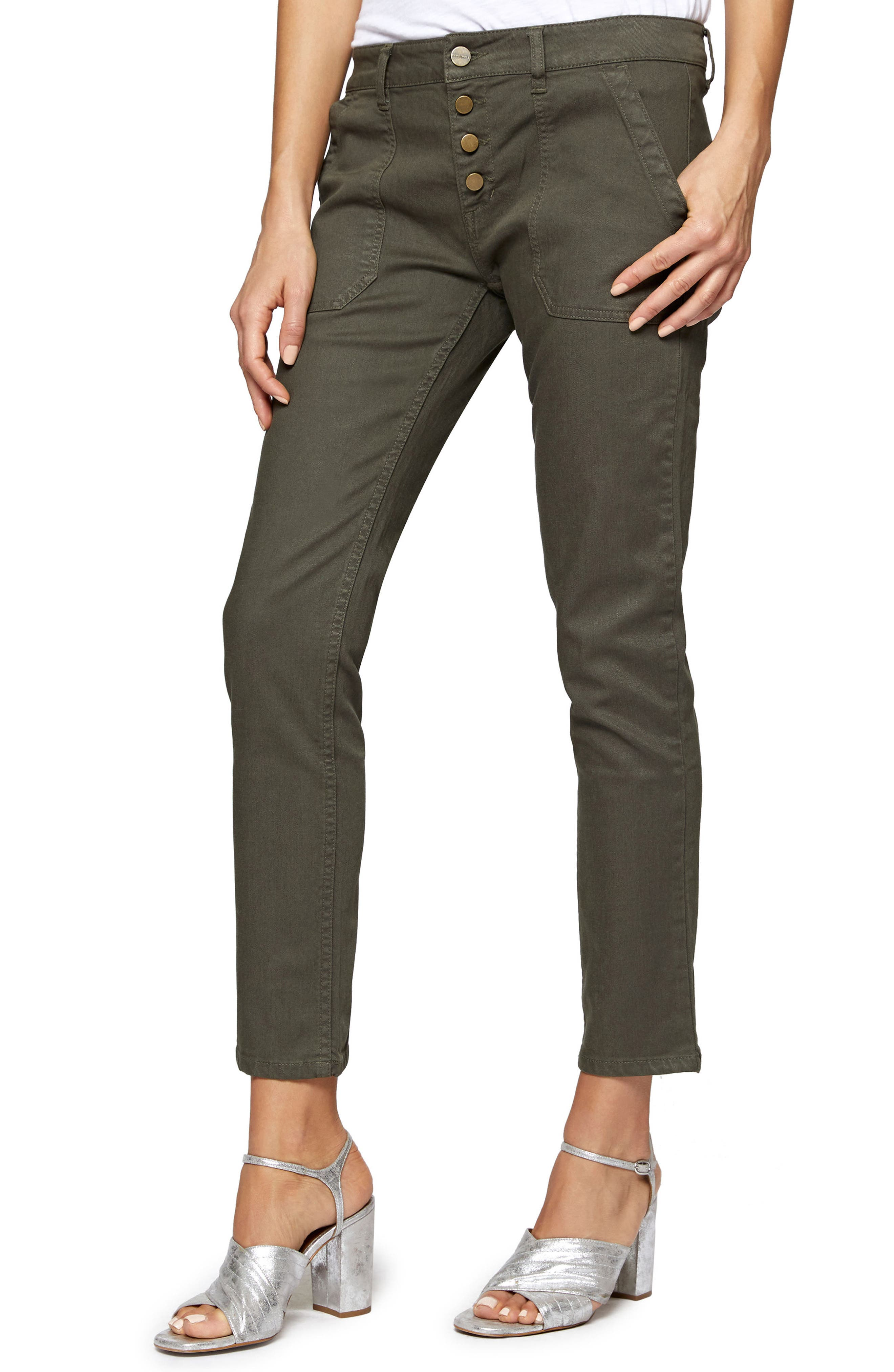 Exposed Peace Straight Pants,                             Main thumbnail 2, color,