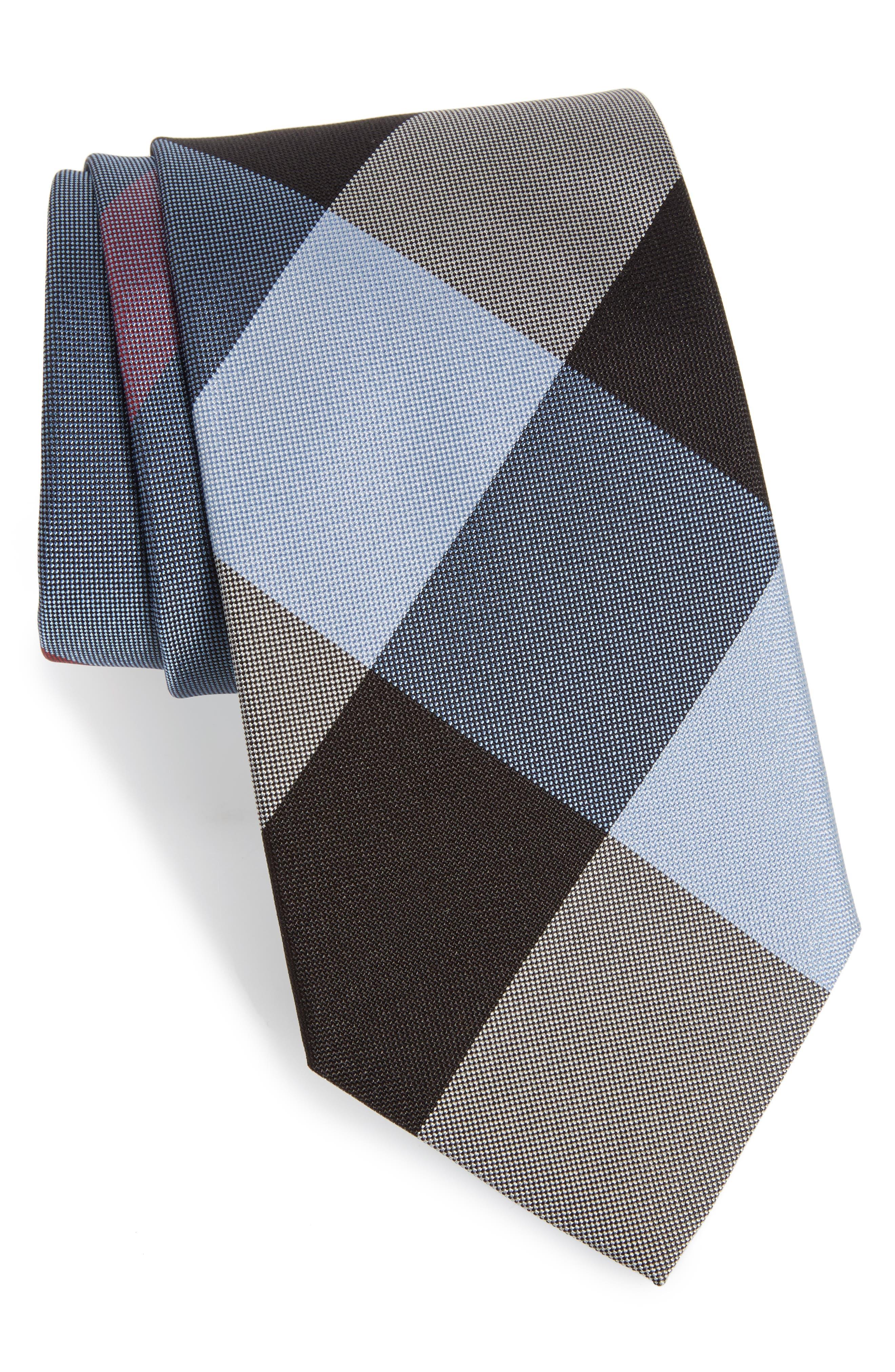 Clinton Silk Tie,                         Main,                         color, 451