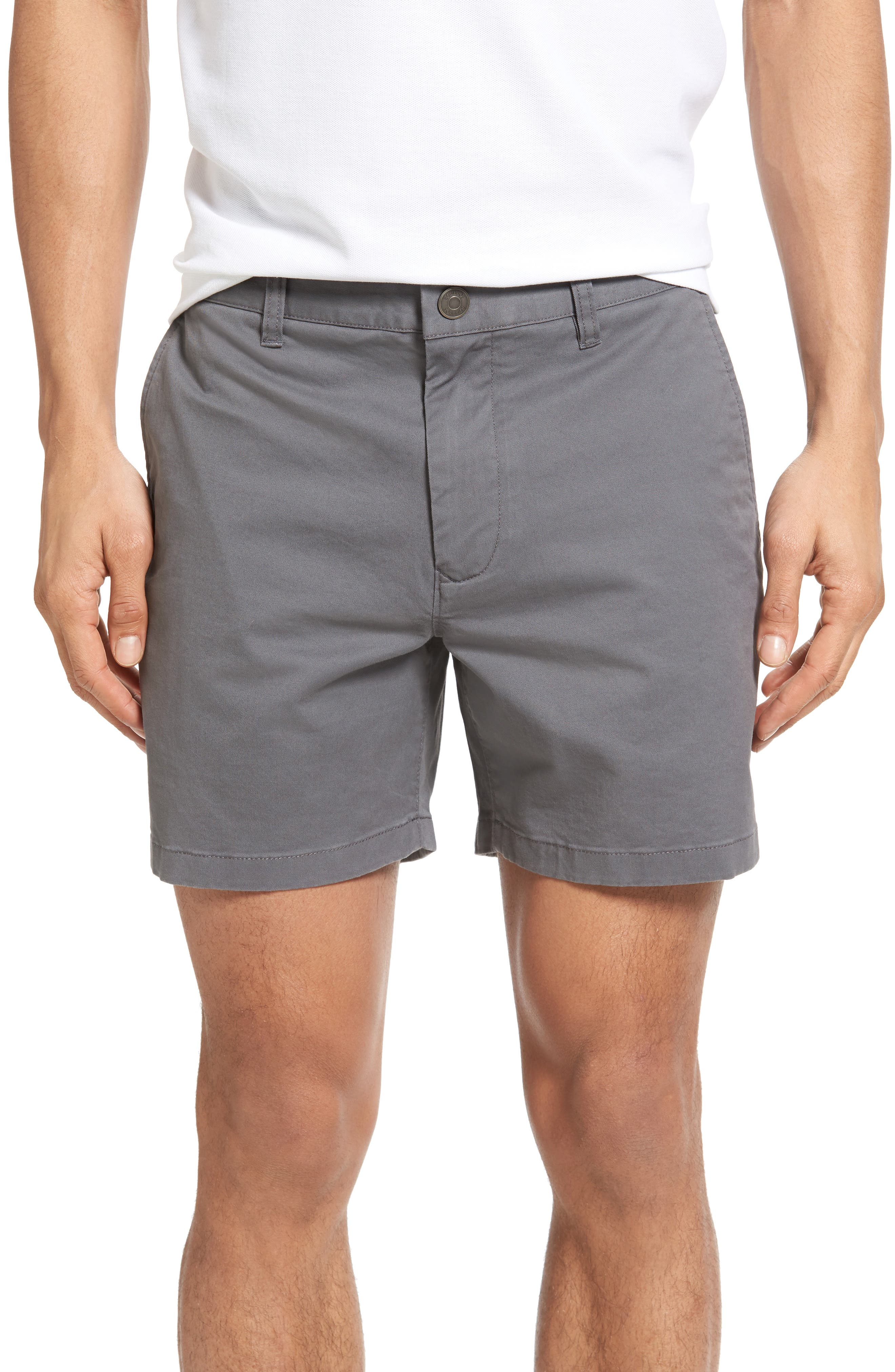 Stretch Washed Chino 5-Inch Shorts,                             Main thumbnail 20, color,
