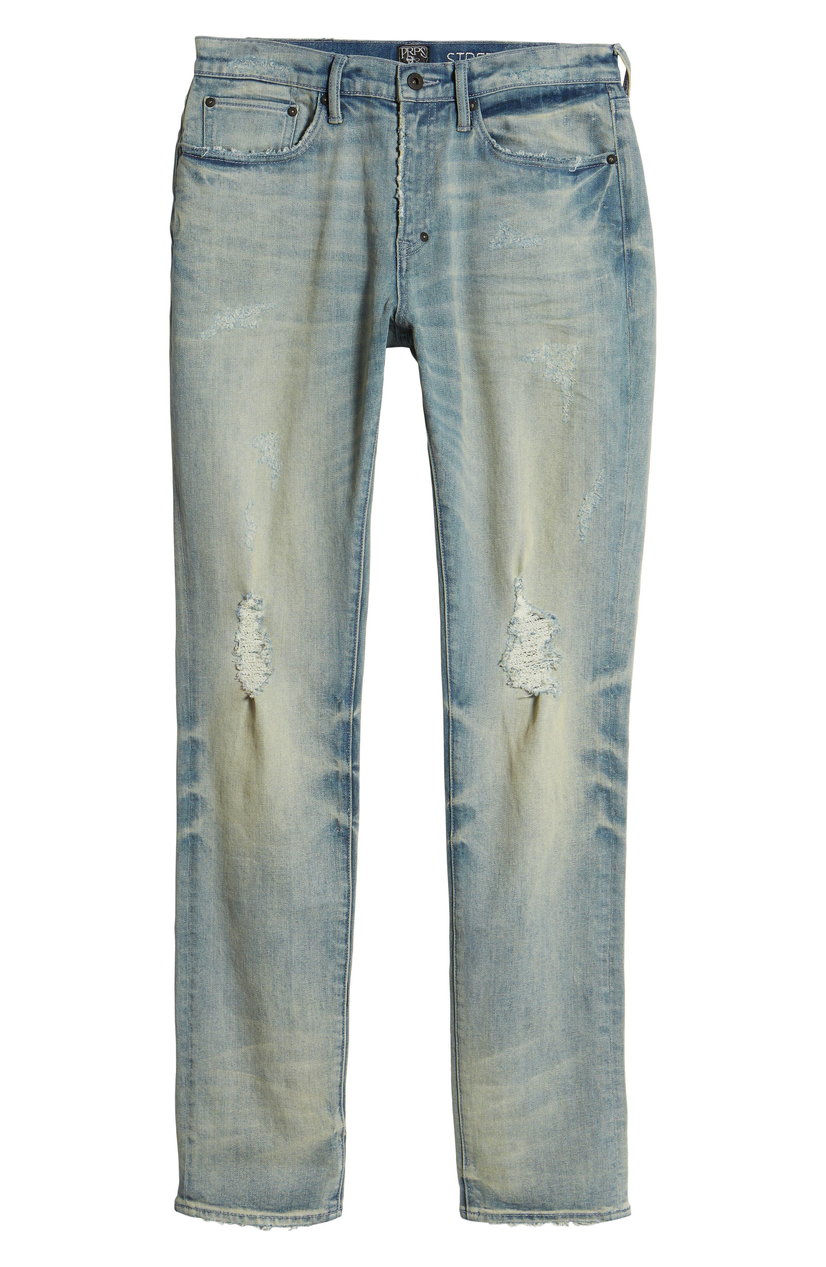 Windsor Slim Fit Jeans,                             Alternate thumbnail 6, color,                             LANGUID