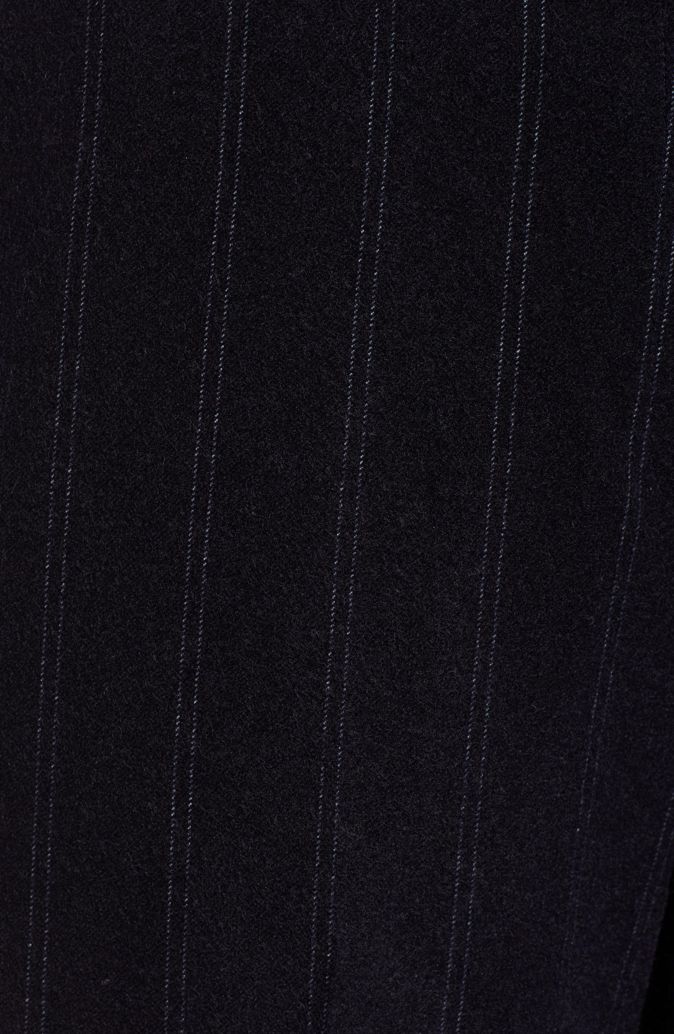 Stripe Wide Leg Crop Suit Pants,                             Alternate thumbnail 6, color,                             410