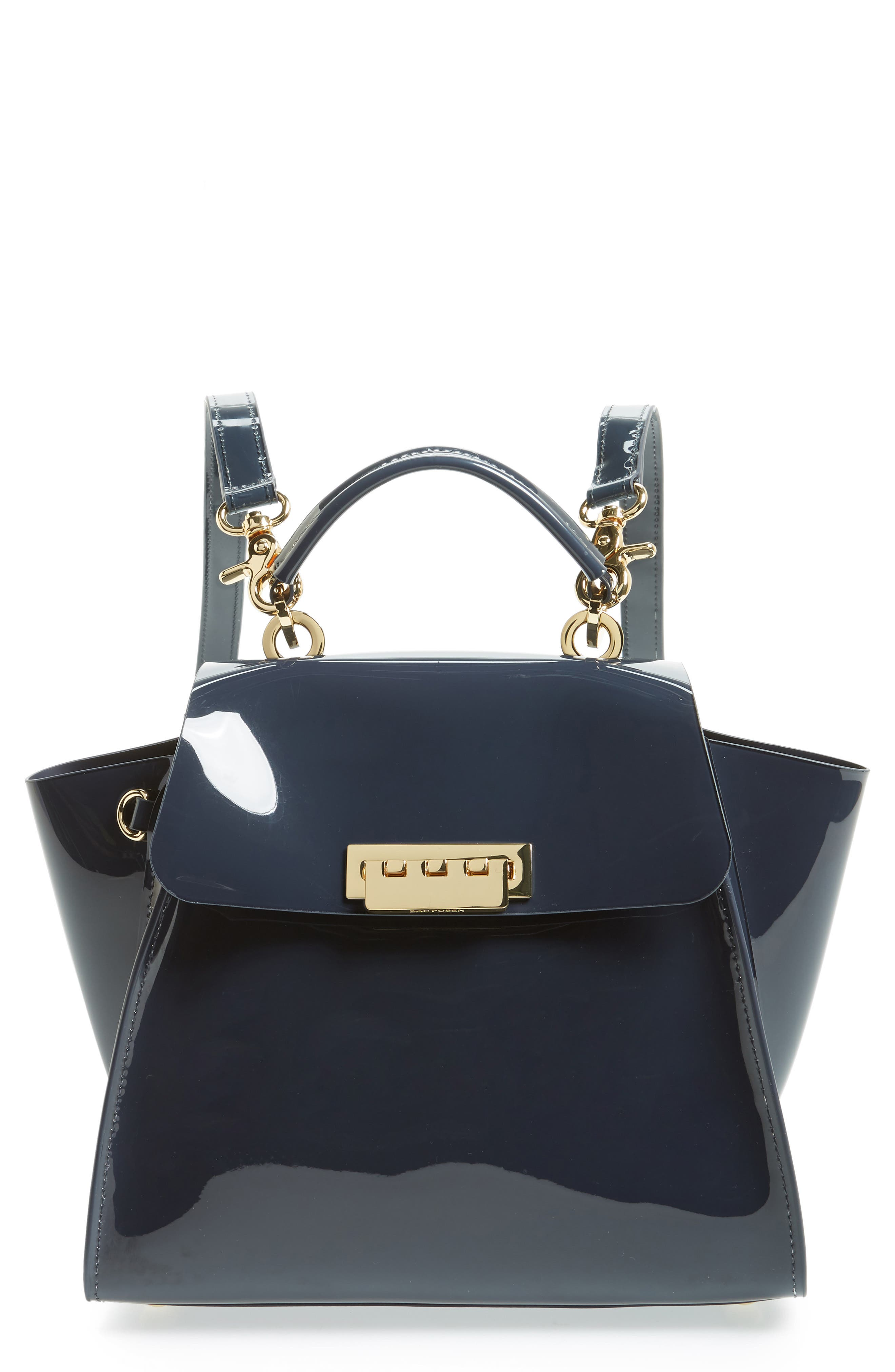 Eartha Iconic Convertible Backpack,                         Main,                         color, NAVY