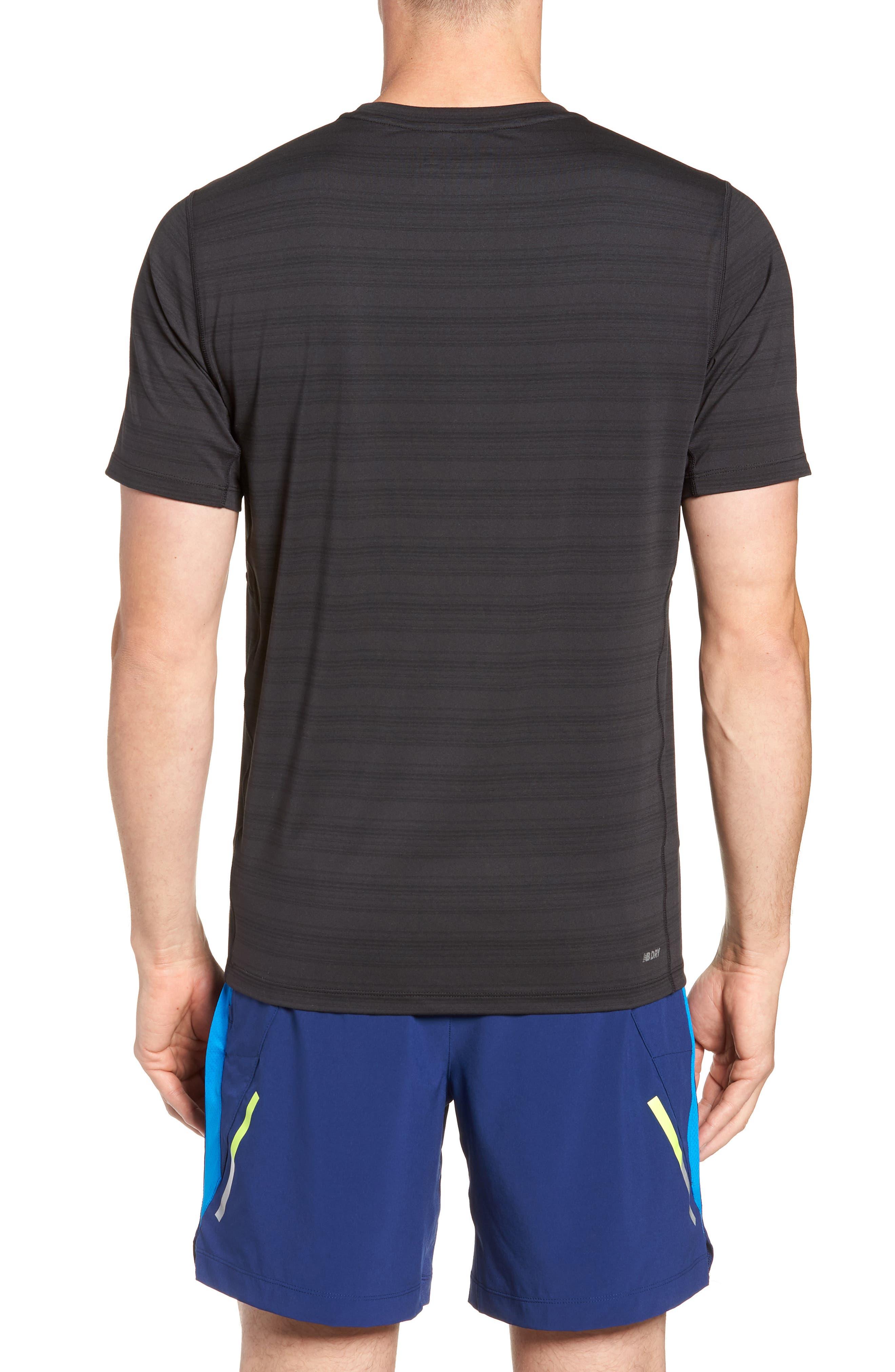 Anticipate Performance T-Shirt,                             Alternate thumbnail 2, color,                             BLACK