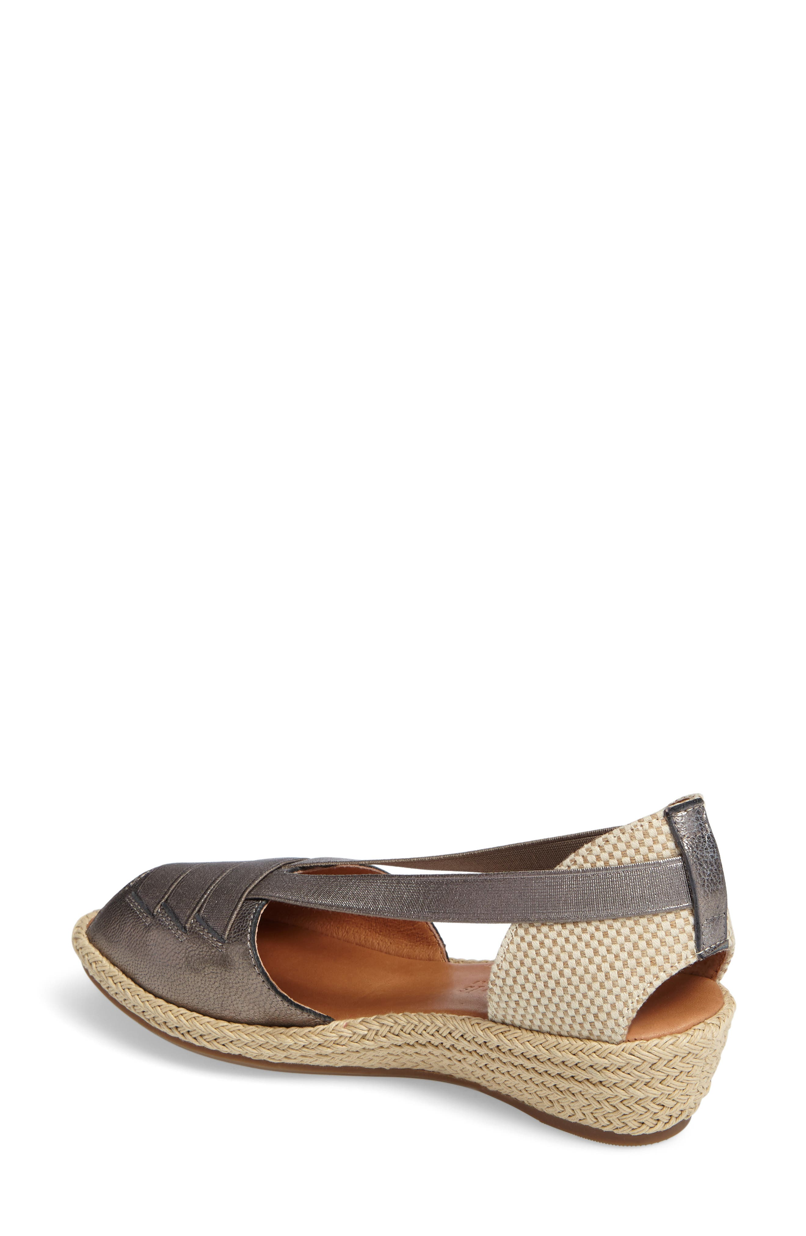 by Kenneth Cole Luci Wedge Sandal,                             Alternate thumbnail 7, color,