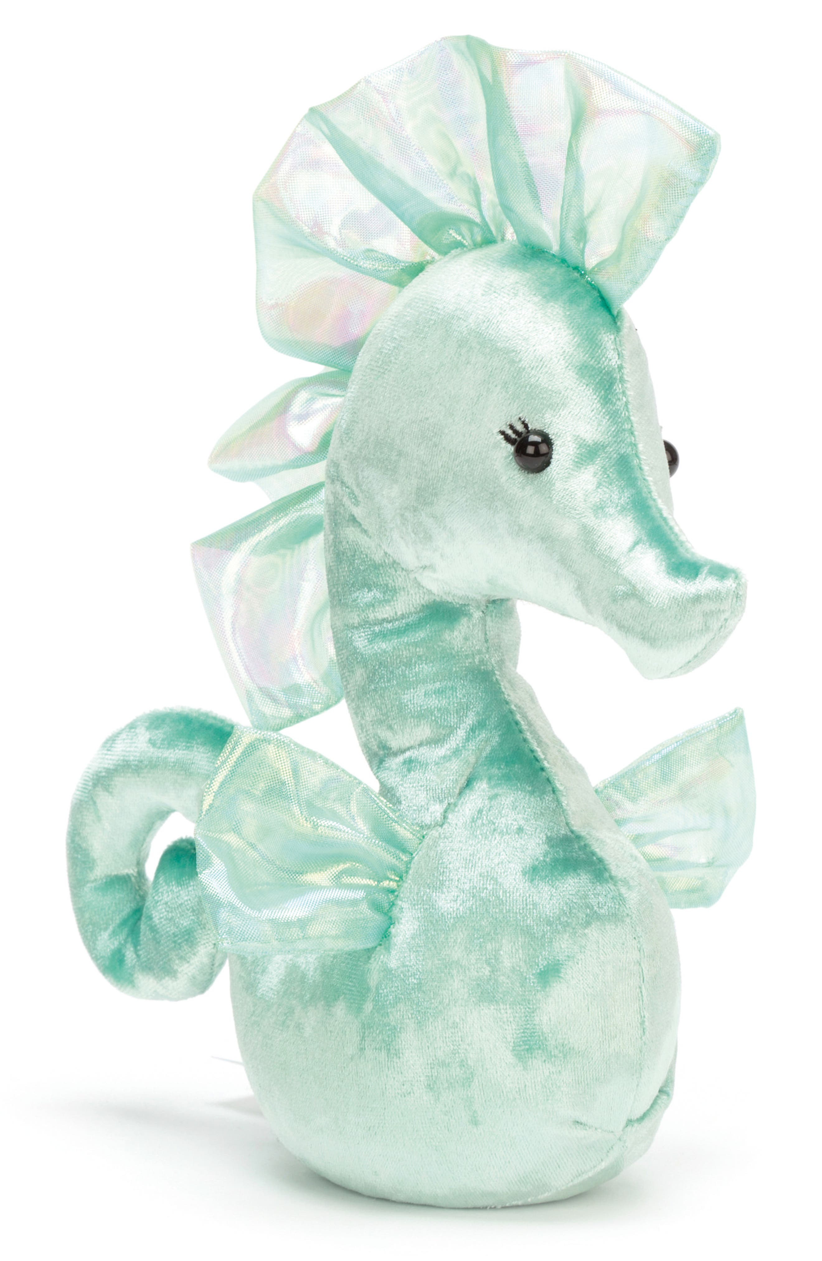 Coral Cuties Green Seahorse Stuffed Animal,                         Main,                         color, 330