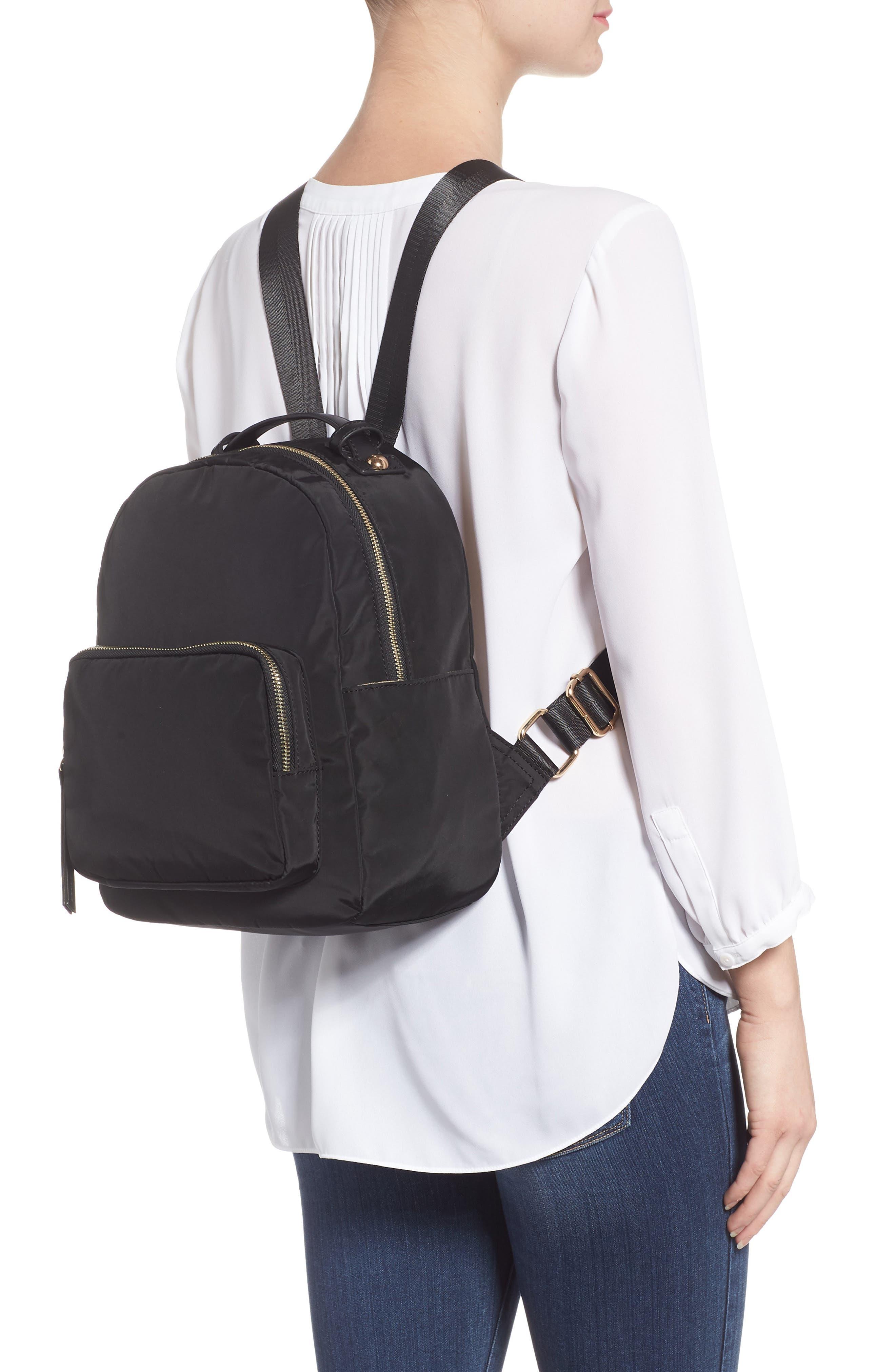 Nylon Backpack,                             Alternate thumbnail 2, color,                             001