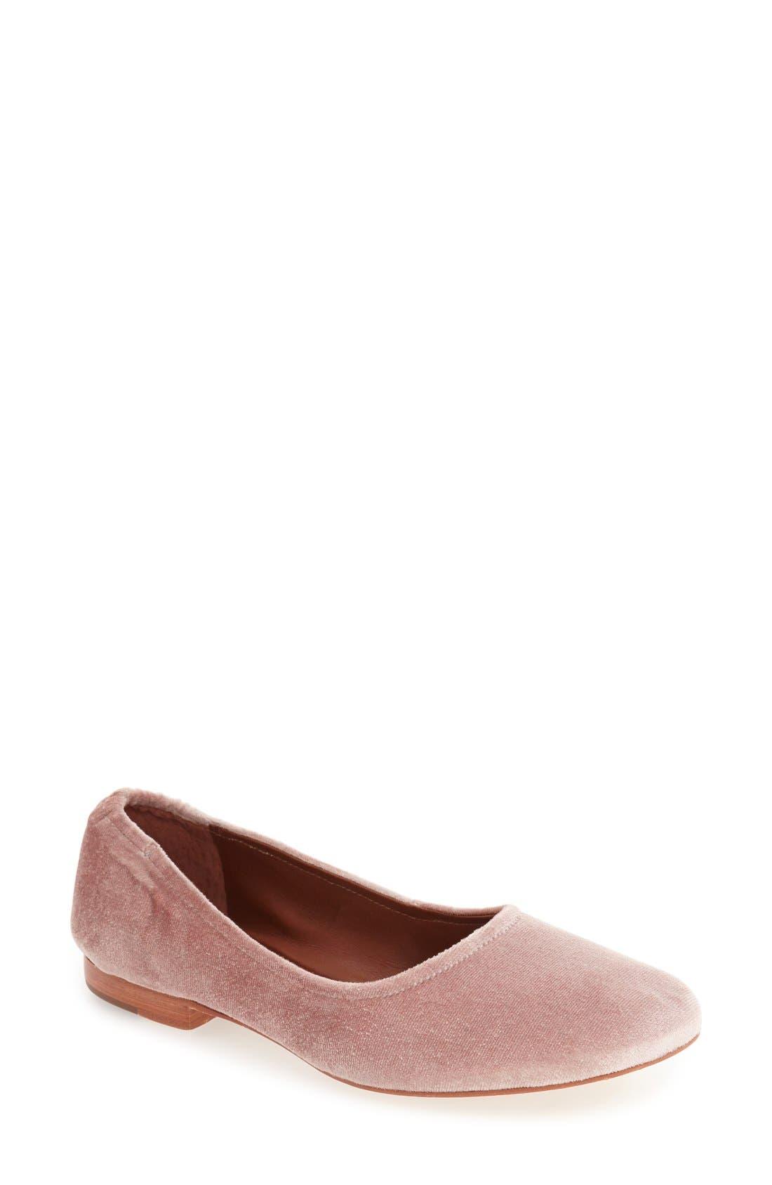 Bernardo Dina Ballet Flat,                             Main thumbnail 5, color,