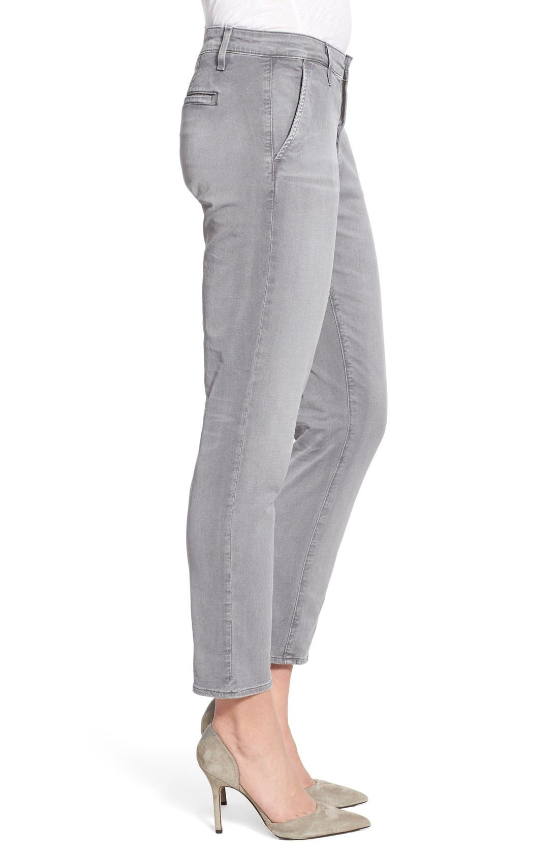 AG,                             'Caden' Crop Slim Jeans,                             Alternate thumbnail 2, color,                             020