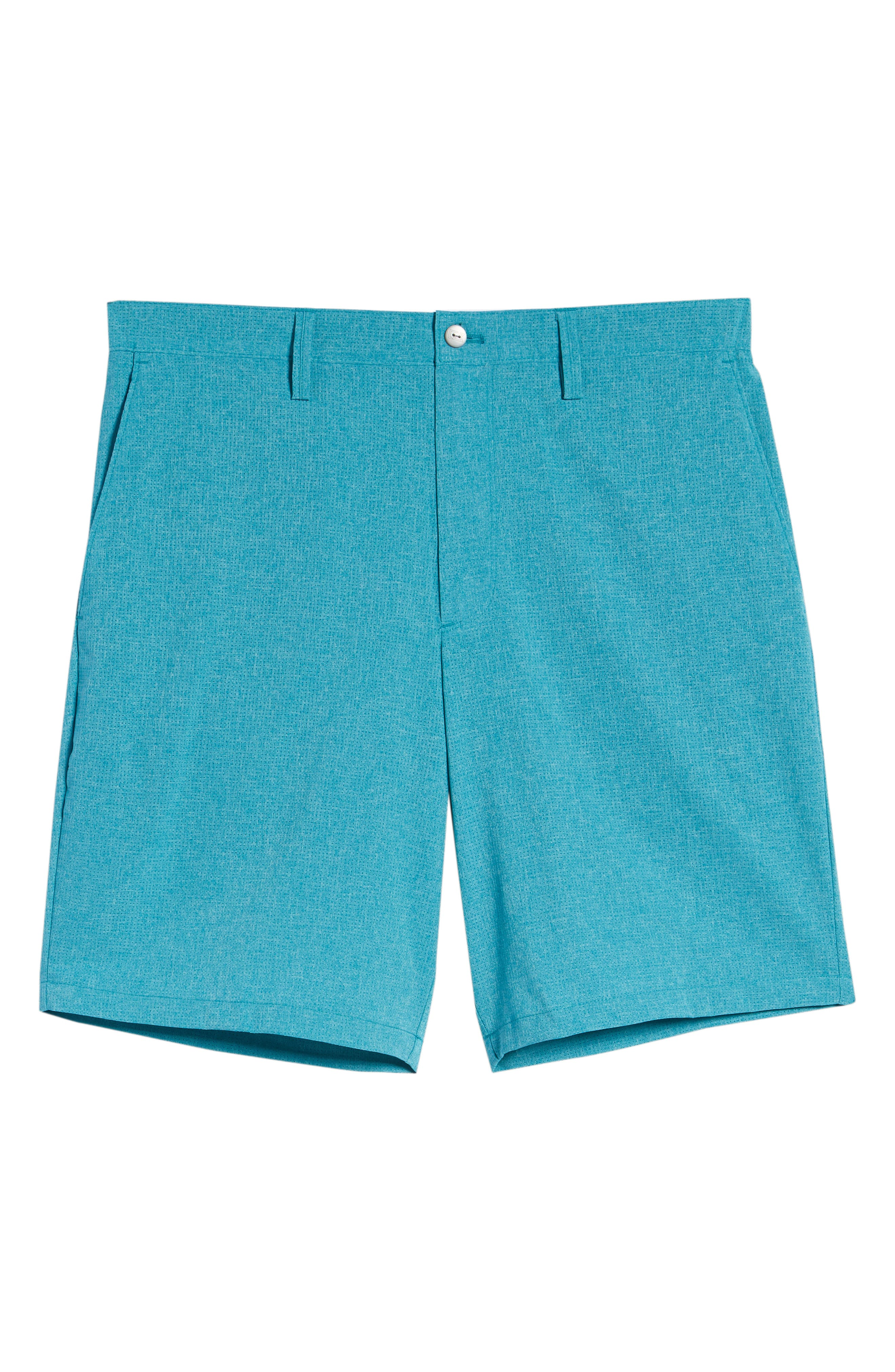Trevor DryTec Golf Shorts,                             Alternate thumbnail 6, color,                             AQUATIC