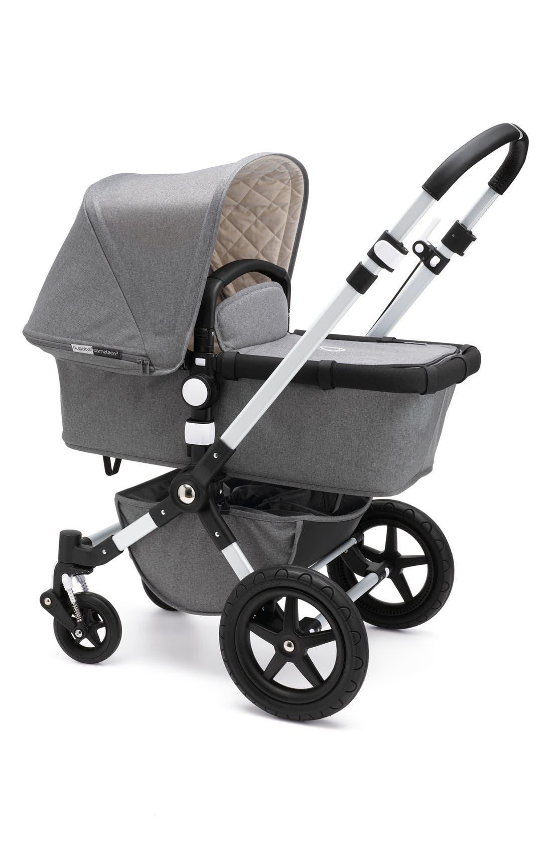 'Cameleon³' Aluminum Frame Stroller with Fabric Set,                         Main,                         color, GREY MELANGE