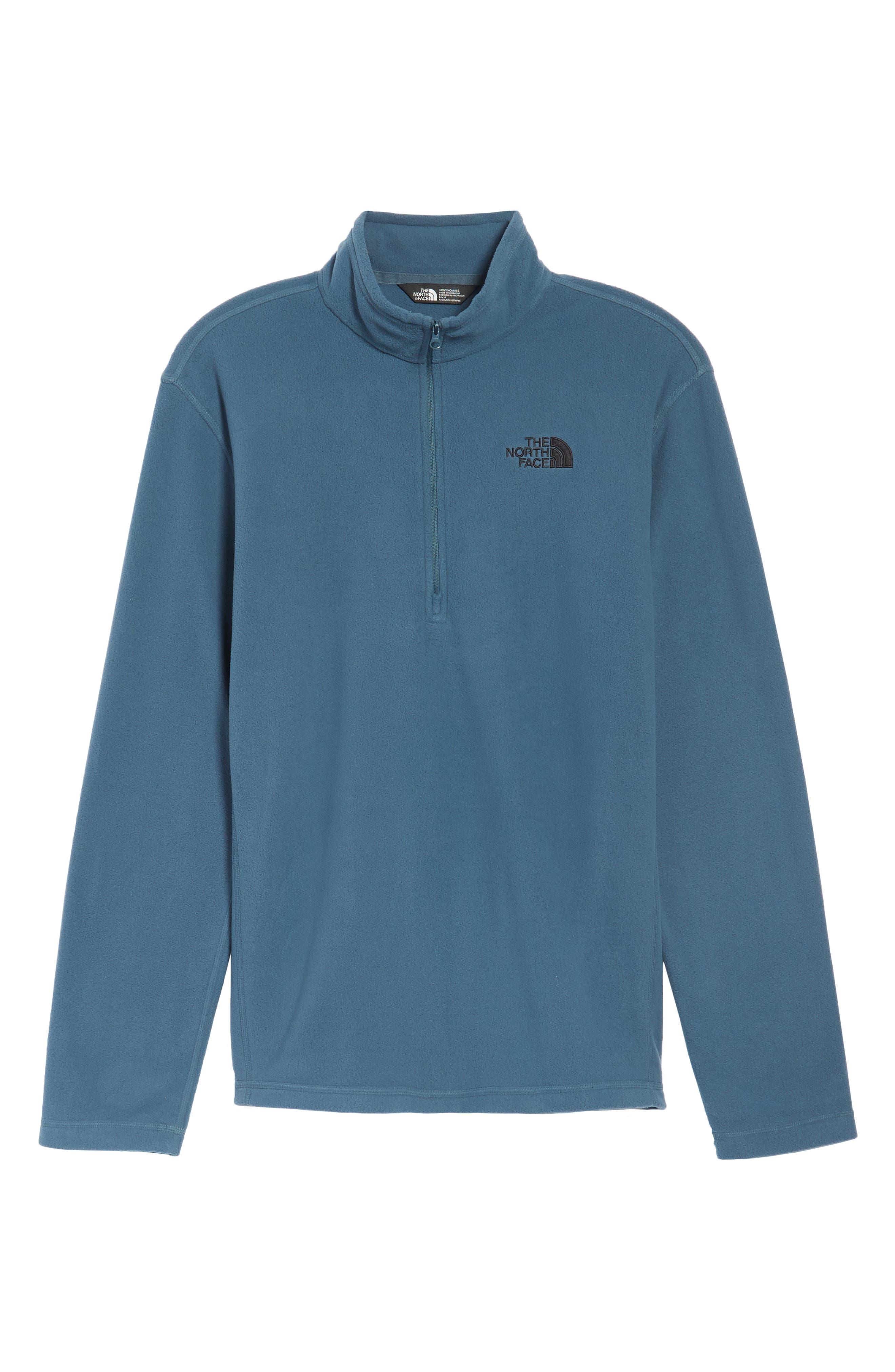 'TKA 100 Glacier' Quarter Zip Fleece Pullover,                             Alternate thumbnail 193, color,