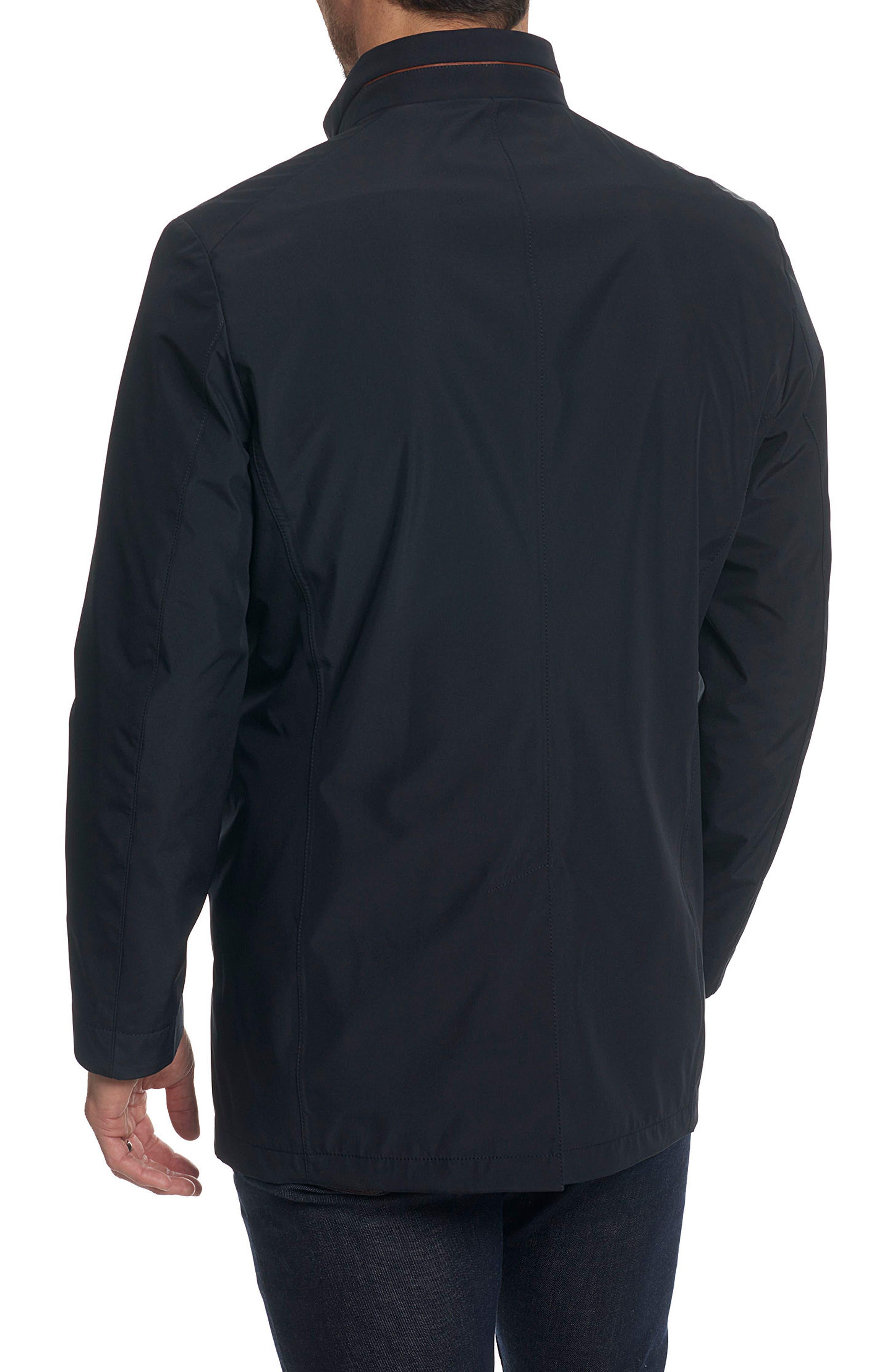 Classic Fit Raincoat,                             Alternate thumbnail 2, color,                             001