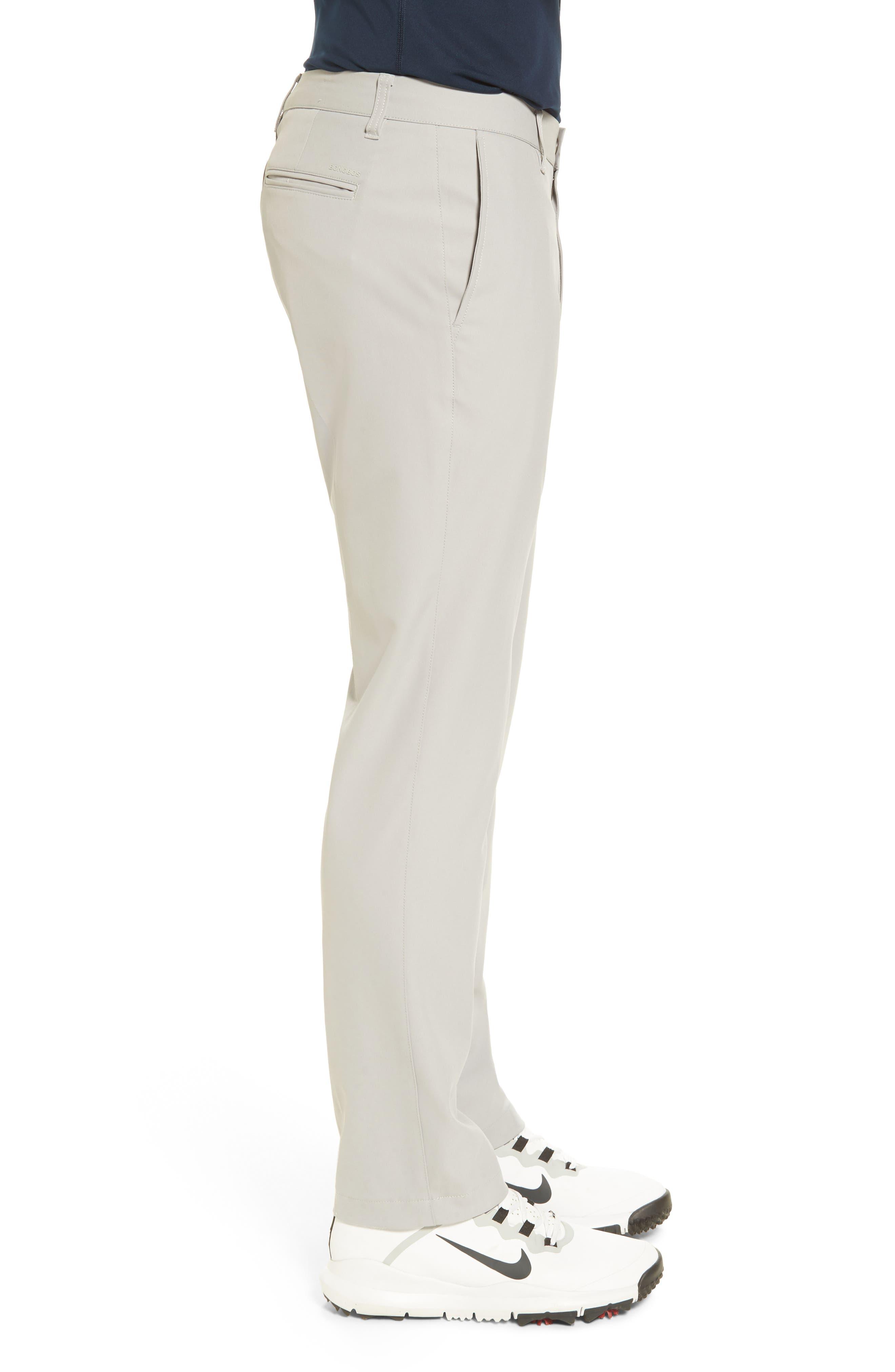 Highland Slim Fit Golf Pants,                             Alternate thumbnail 3, color,                             LIGHT GREY