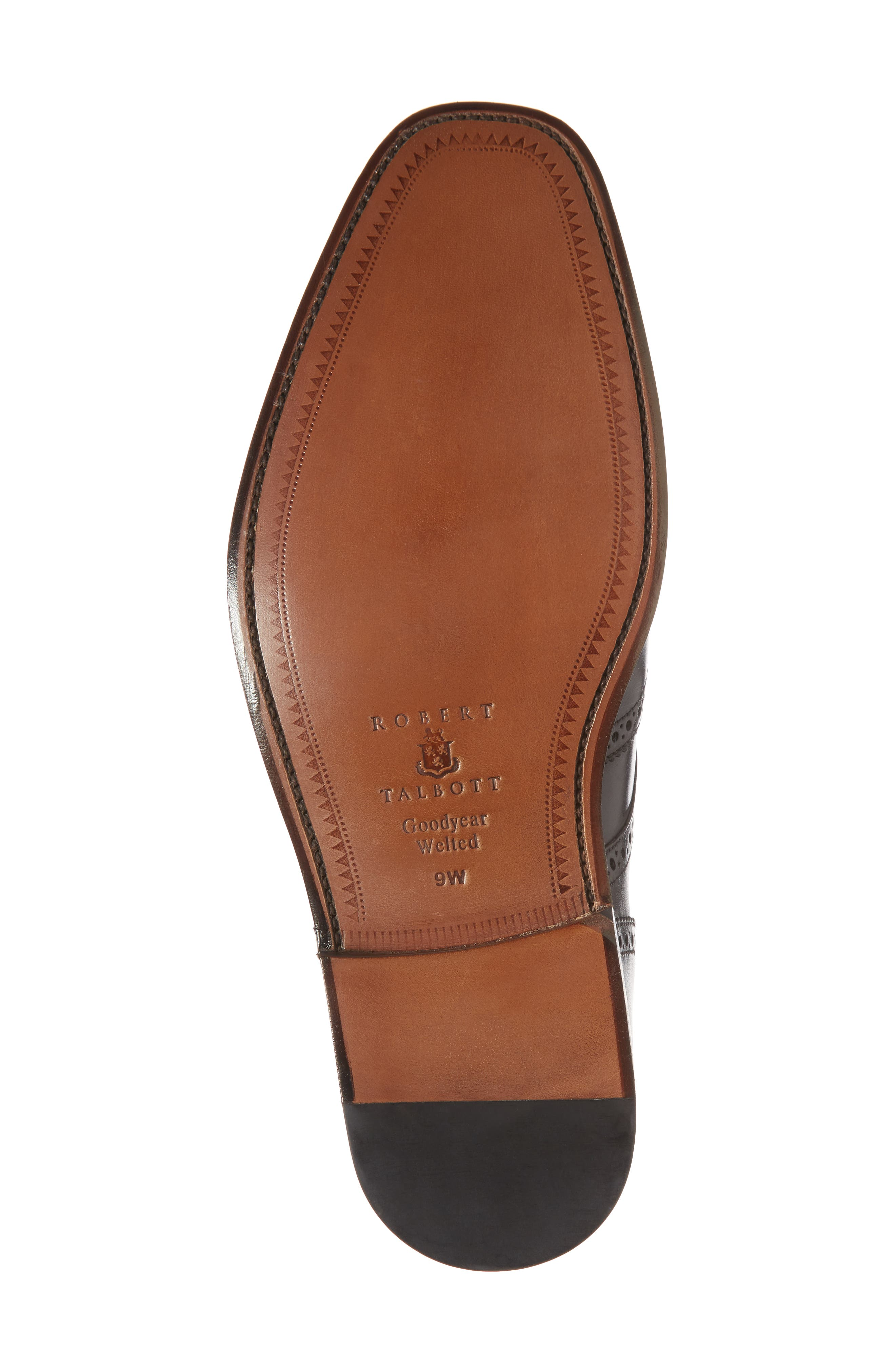 Cavallo Wingtip,                             Alternate thumbnail 6, color,                             BLACK LEATHER