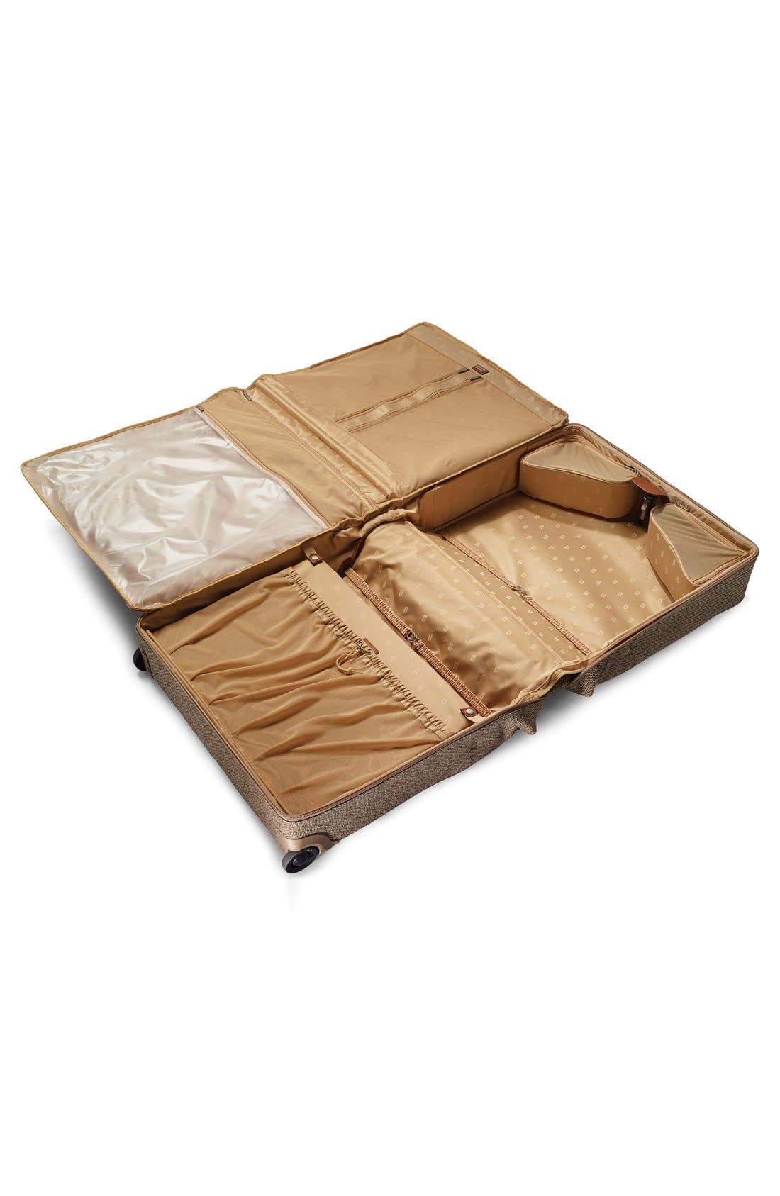 'Tweed Belting' Wheeled Garment Bag,                             Alternate thumbnail 2, color,                             217