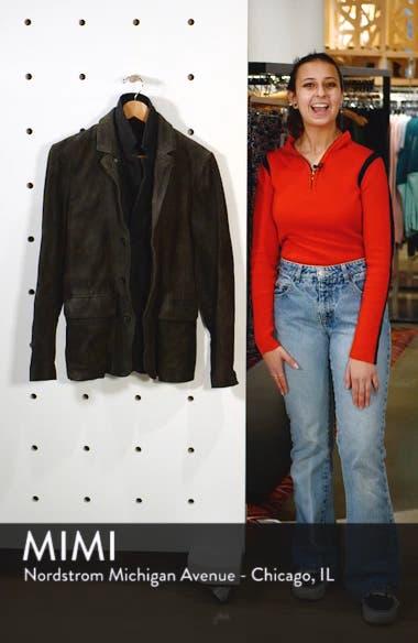 Survey Leather Blazer, sales video thumbnail