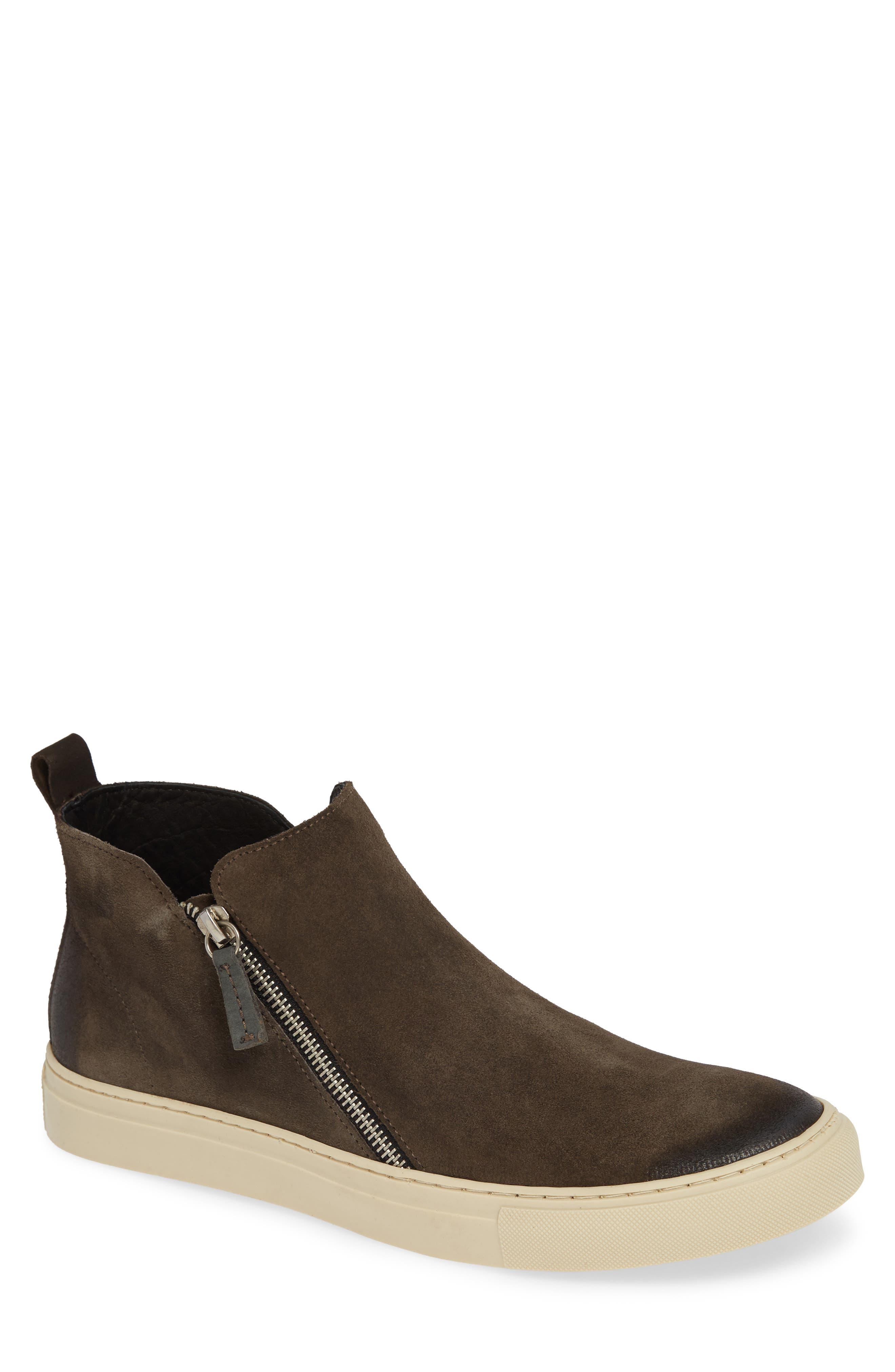 Barlow Zip Boot,                         Main,                         color, DARK GRAY