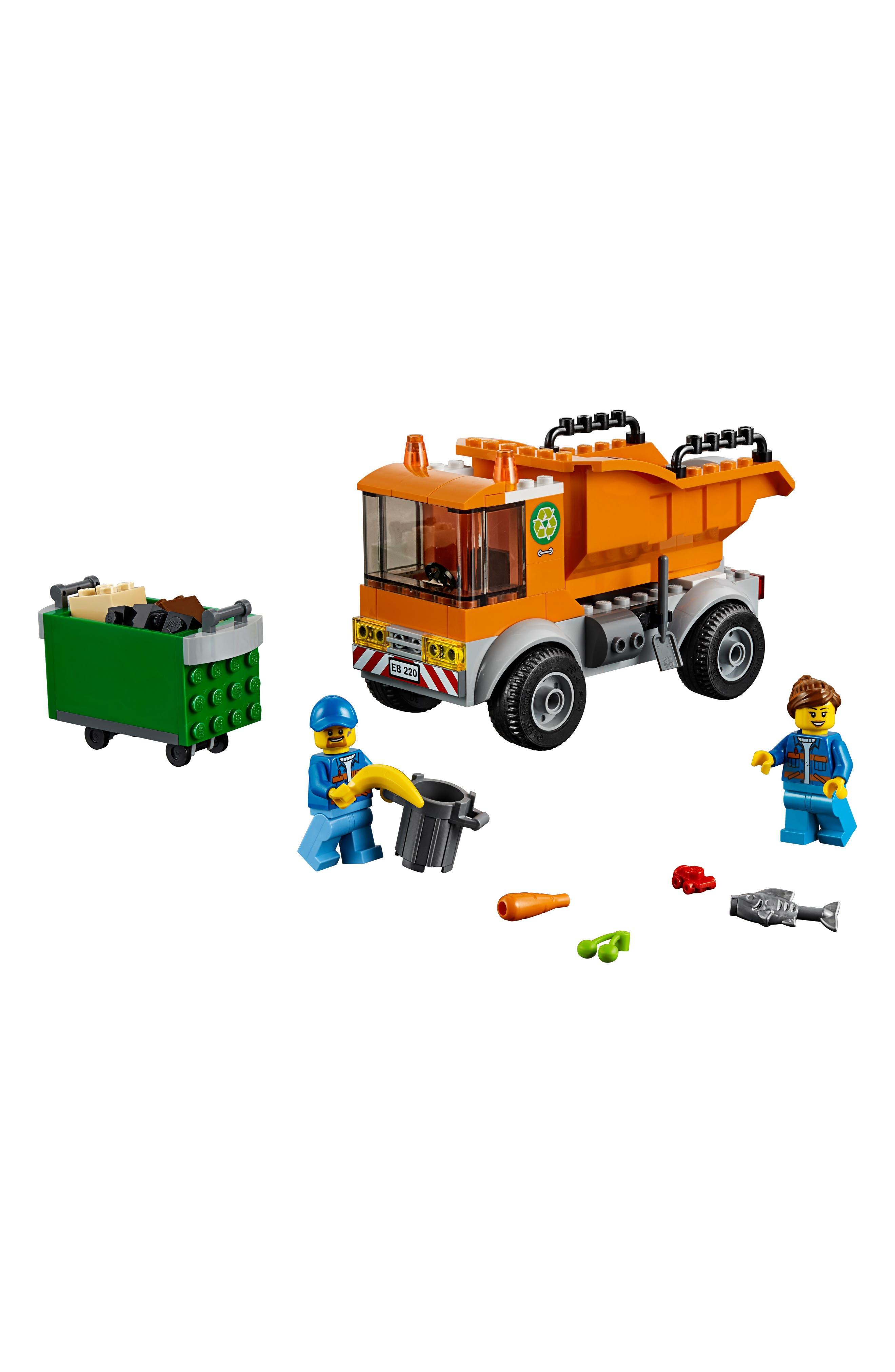 4+ City Garbage Truck - 60220, Main, color, MULTI