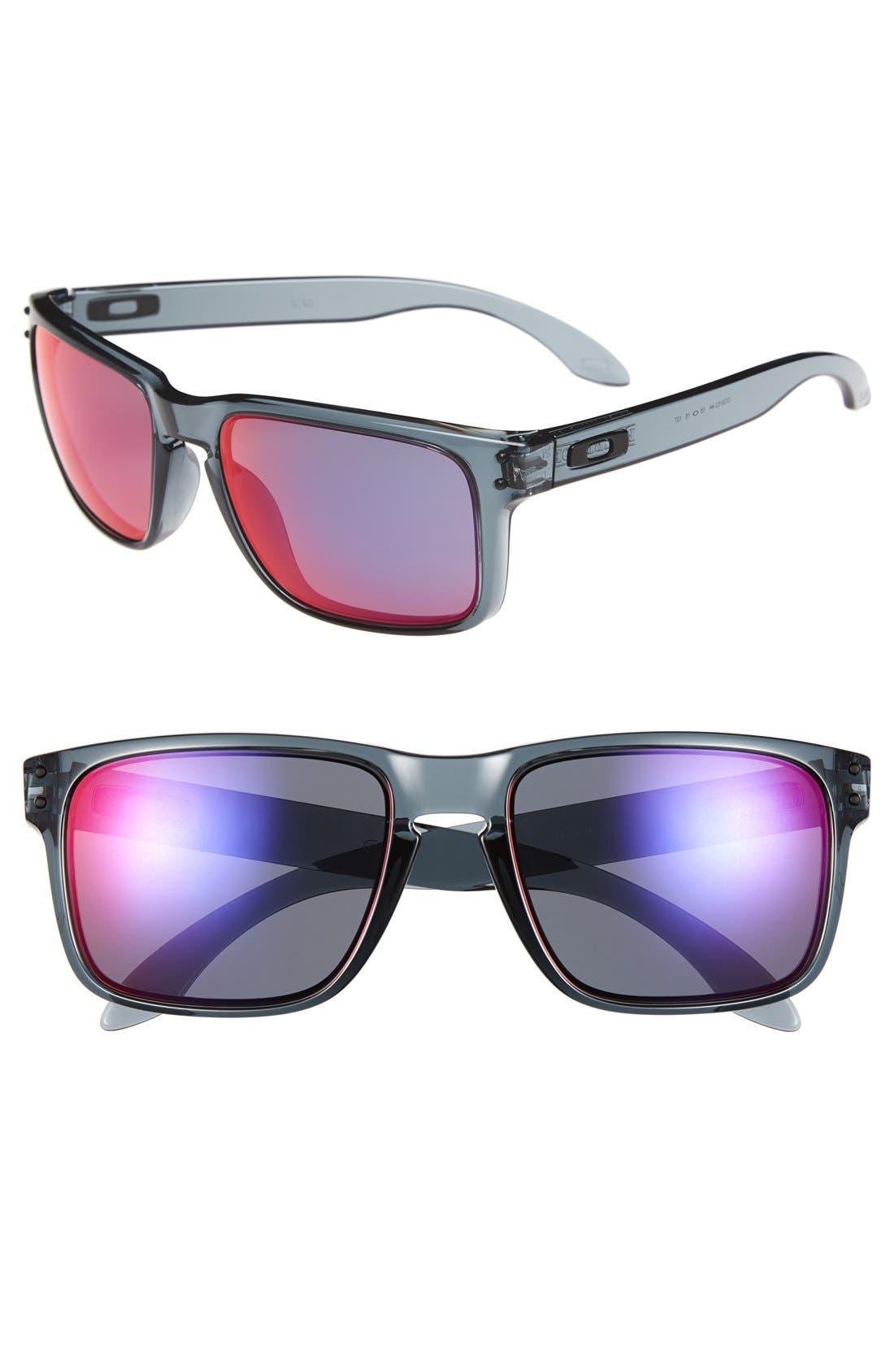 'Holbrook' 55mm Sunglasses,                             Main thumbnail 1, color,                             001