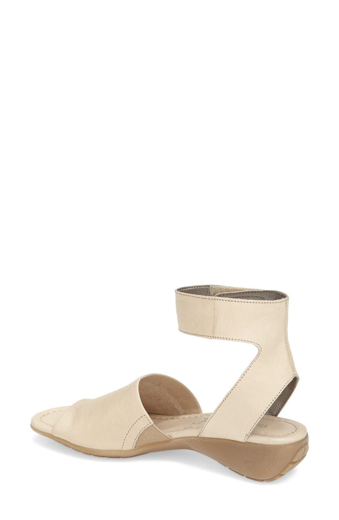 'Beglad' Leather Ankle Strap Sandal,                             Alternate thumbnail 30, color,