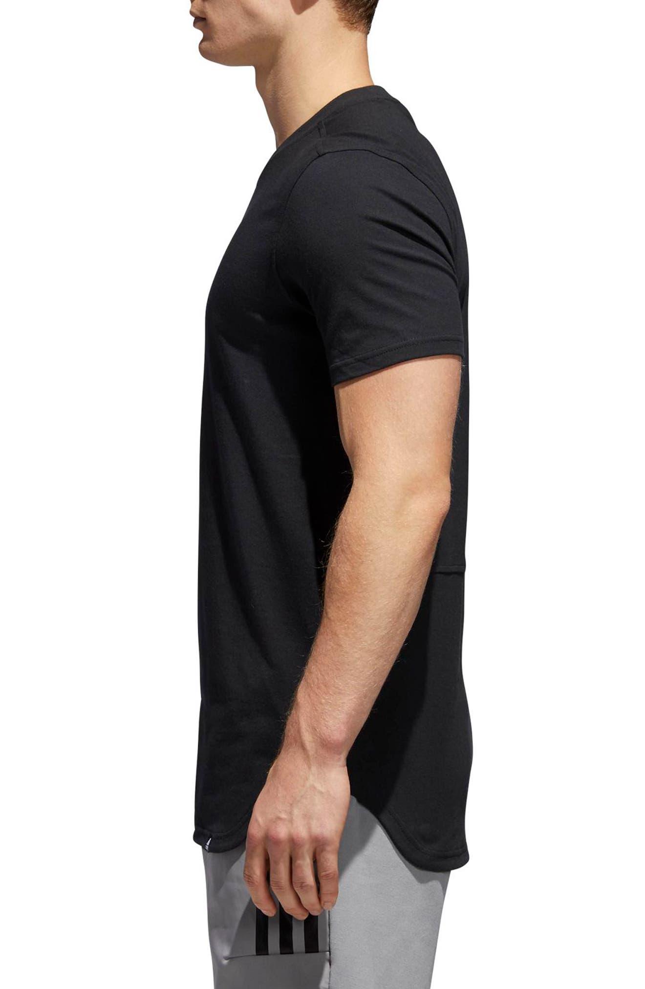 Elevate LA T-Shirt,                             Alternate thumbnail 2, color,                             001