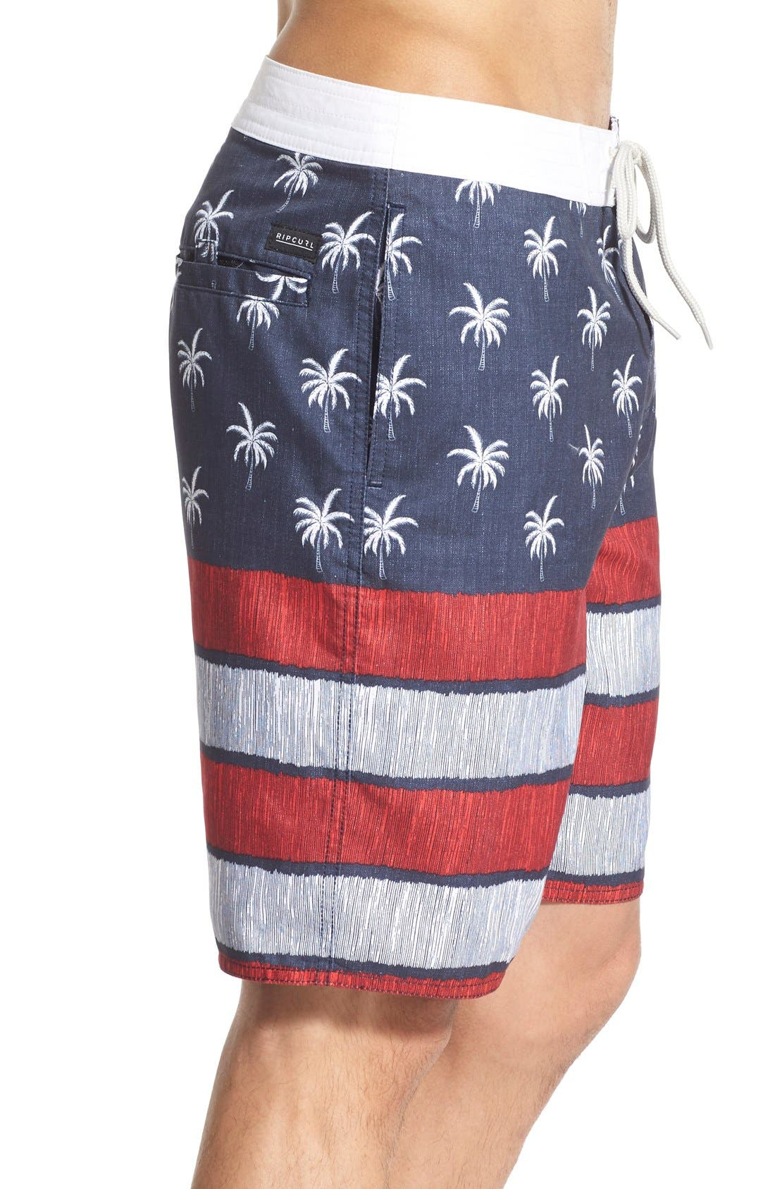 'Independence' Board Shorts,                             Alternate thumbnail 3, color,                             410