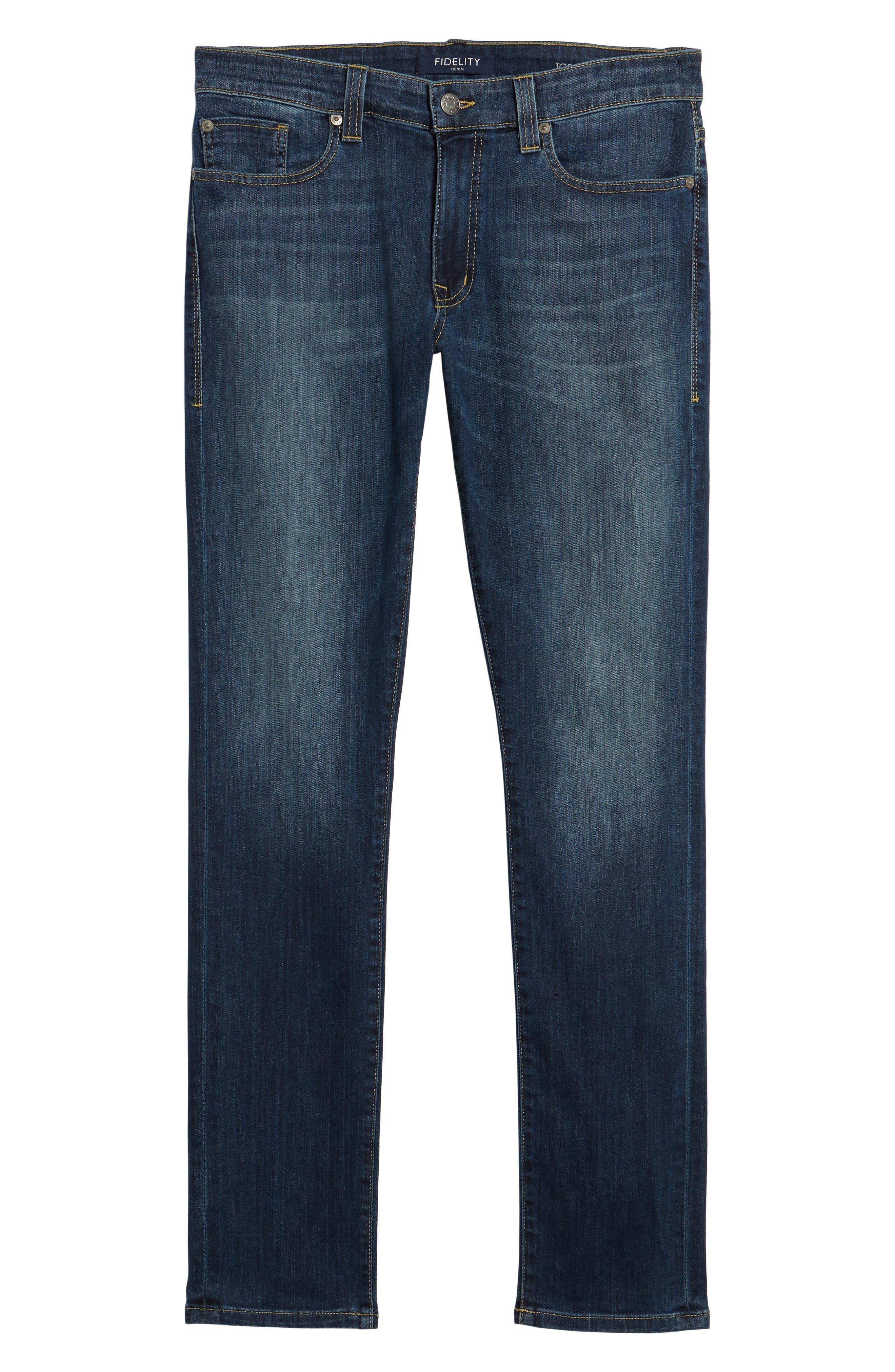 Torino Slim Fit Jeans,                             Alternate thumbnail 6, color,                             400