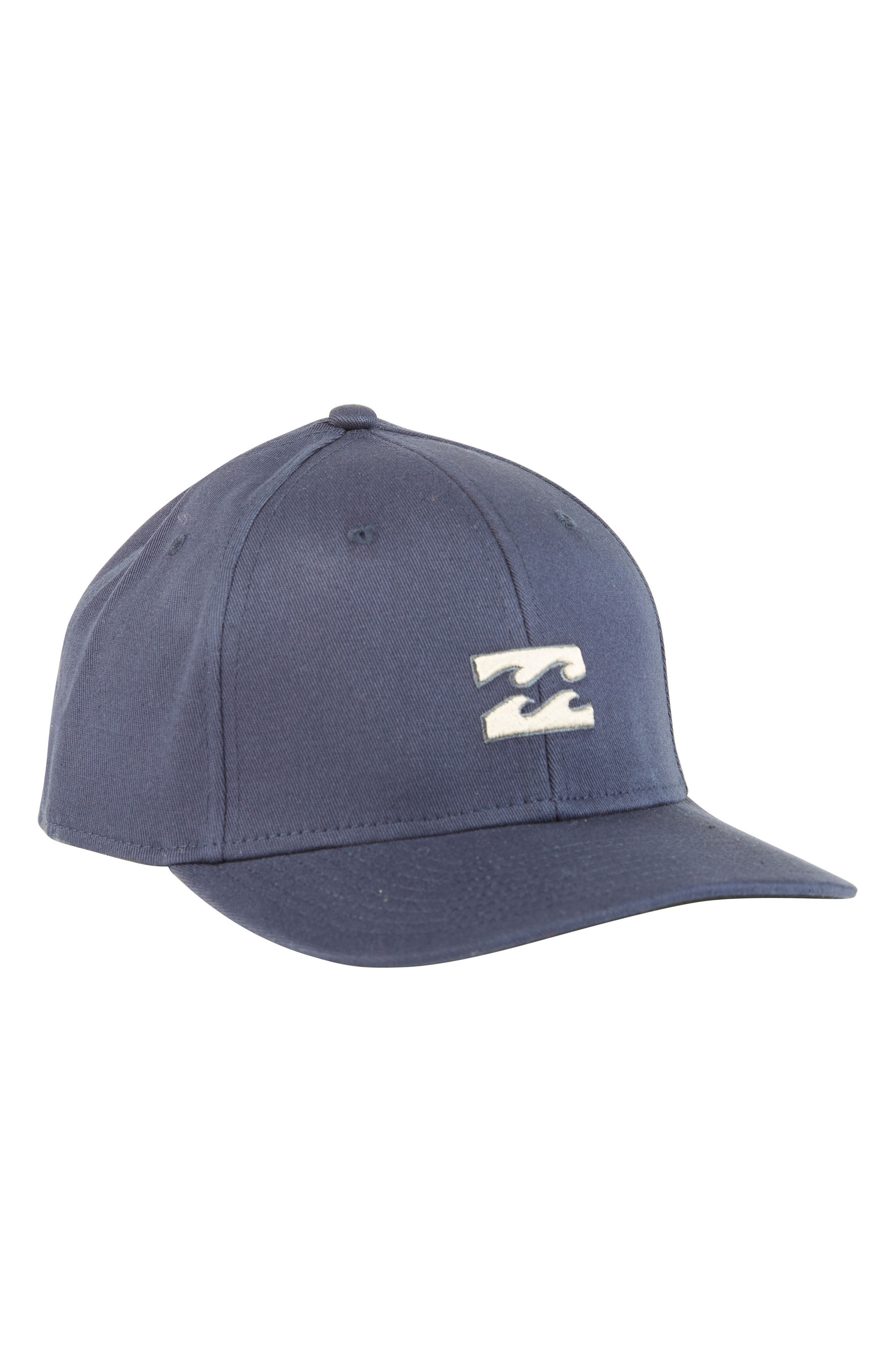 All Day Stretch Baseball Cap,                         Main,                         color, NAVY