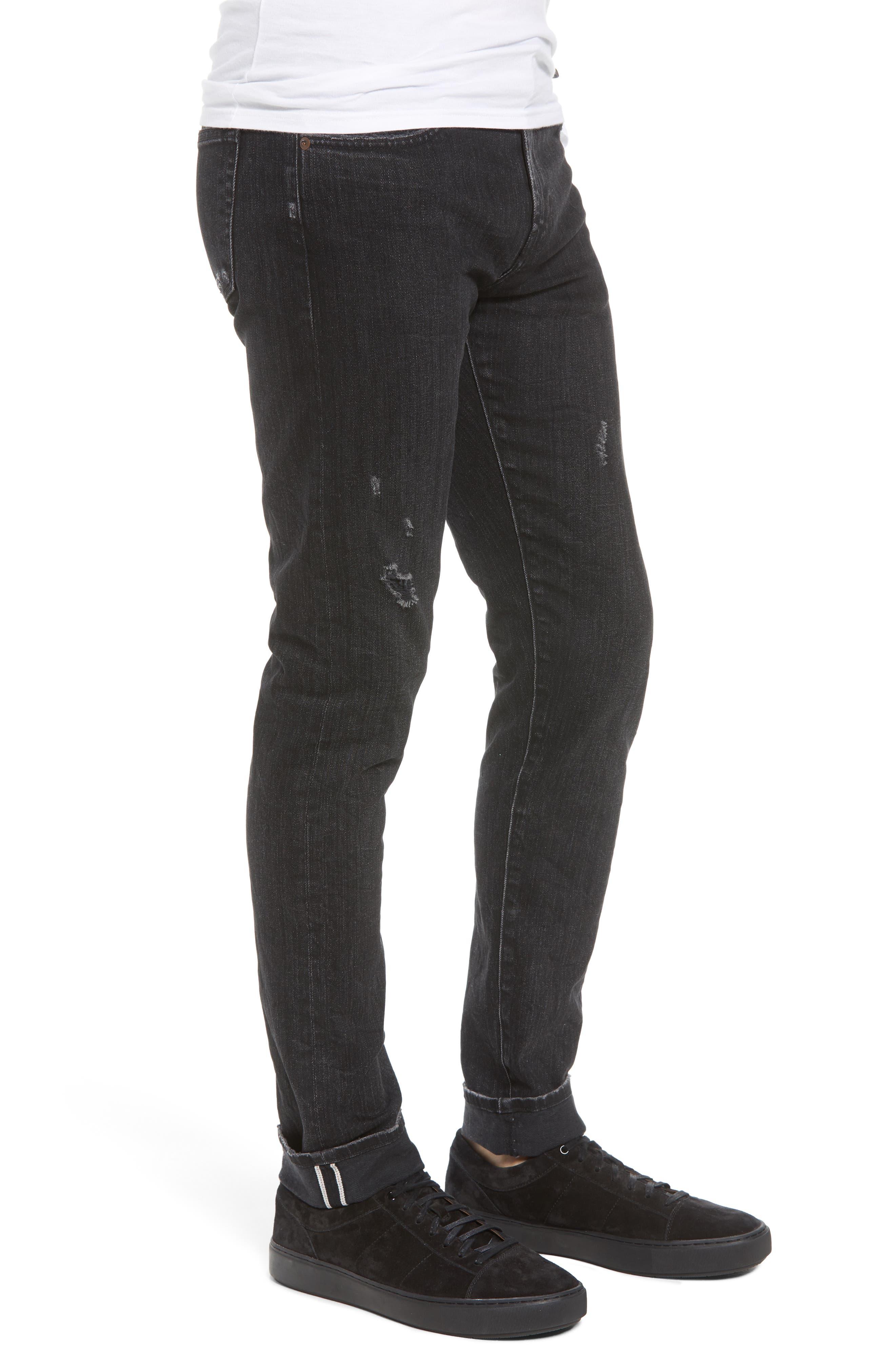 Tyler Slim Fit Jeans,                             Alternate thumbnail 3, color,                             009