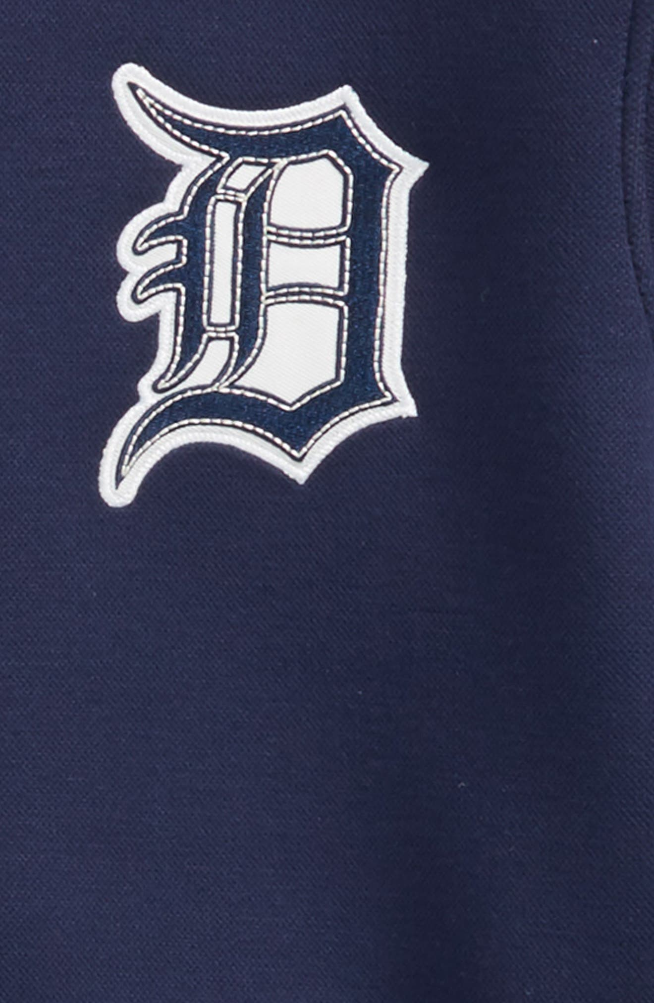 Classical Detroit Tigers Knit Varsity Jacket,                             Alternate thumbnail 2, color,                             400