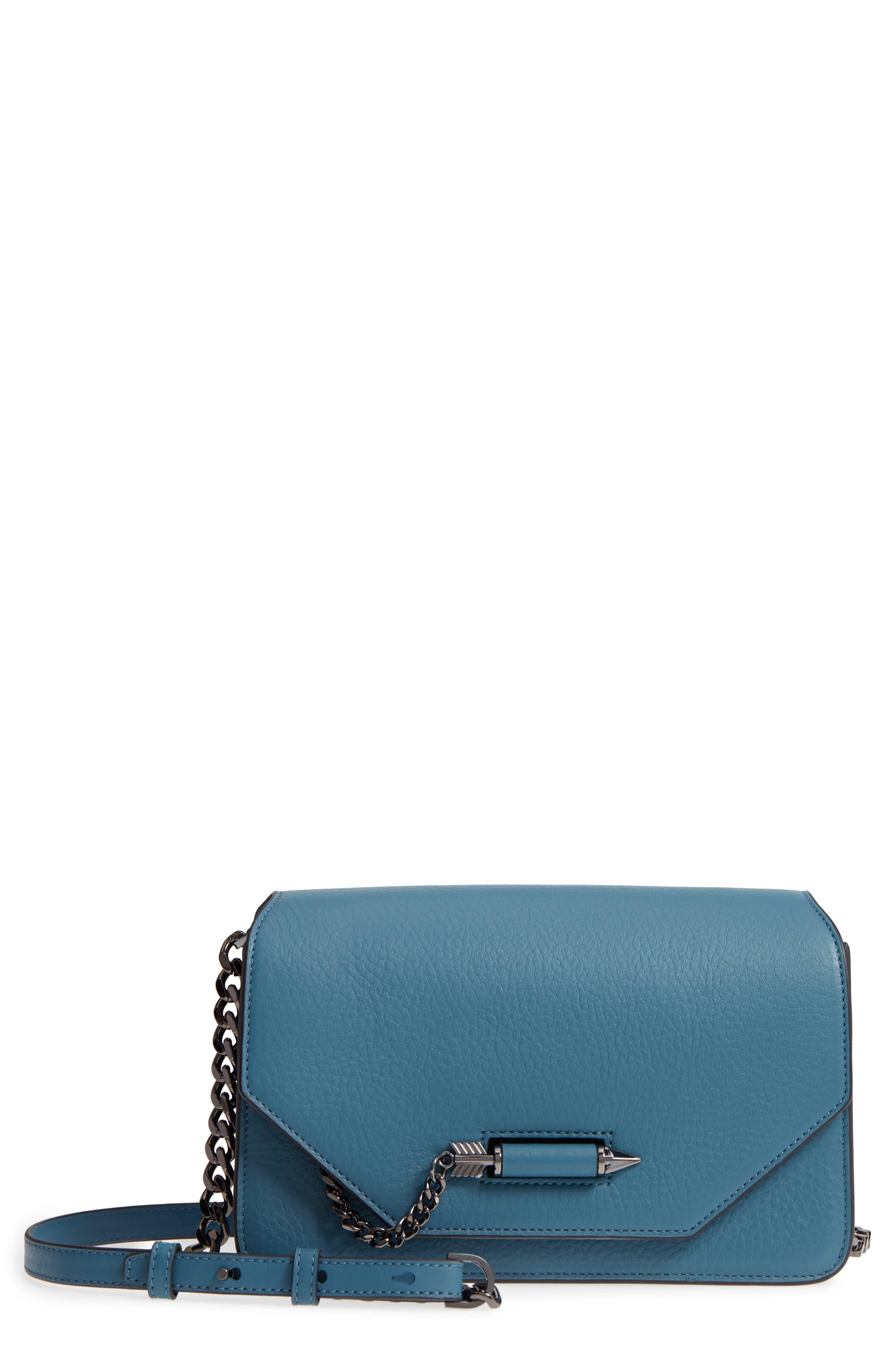 Cortney Nappa Leather Shoulder/Crossbody Bag,                             Main thumbnail 3, color,