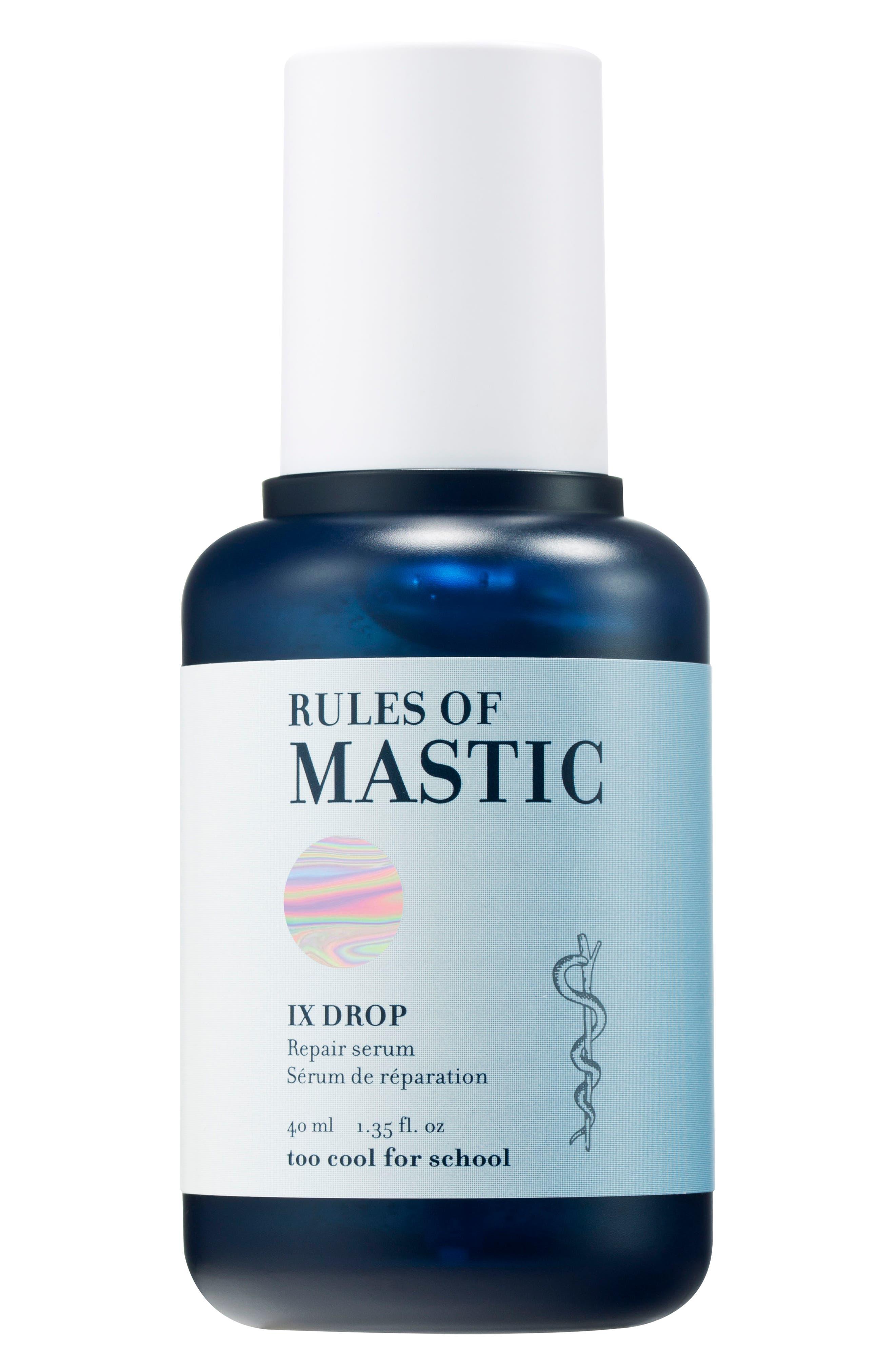 Rules of Mastic IX Drop,                         Main,                         color, NO COLOR
