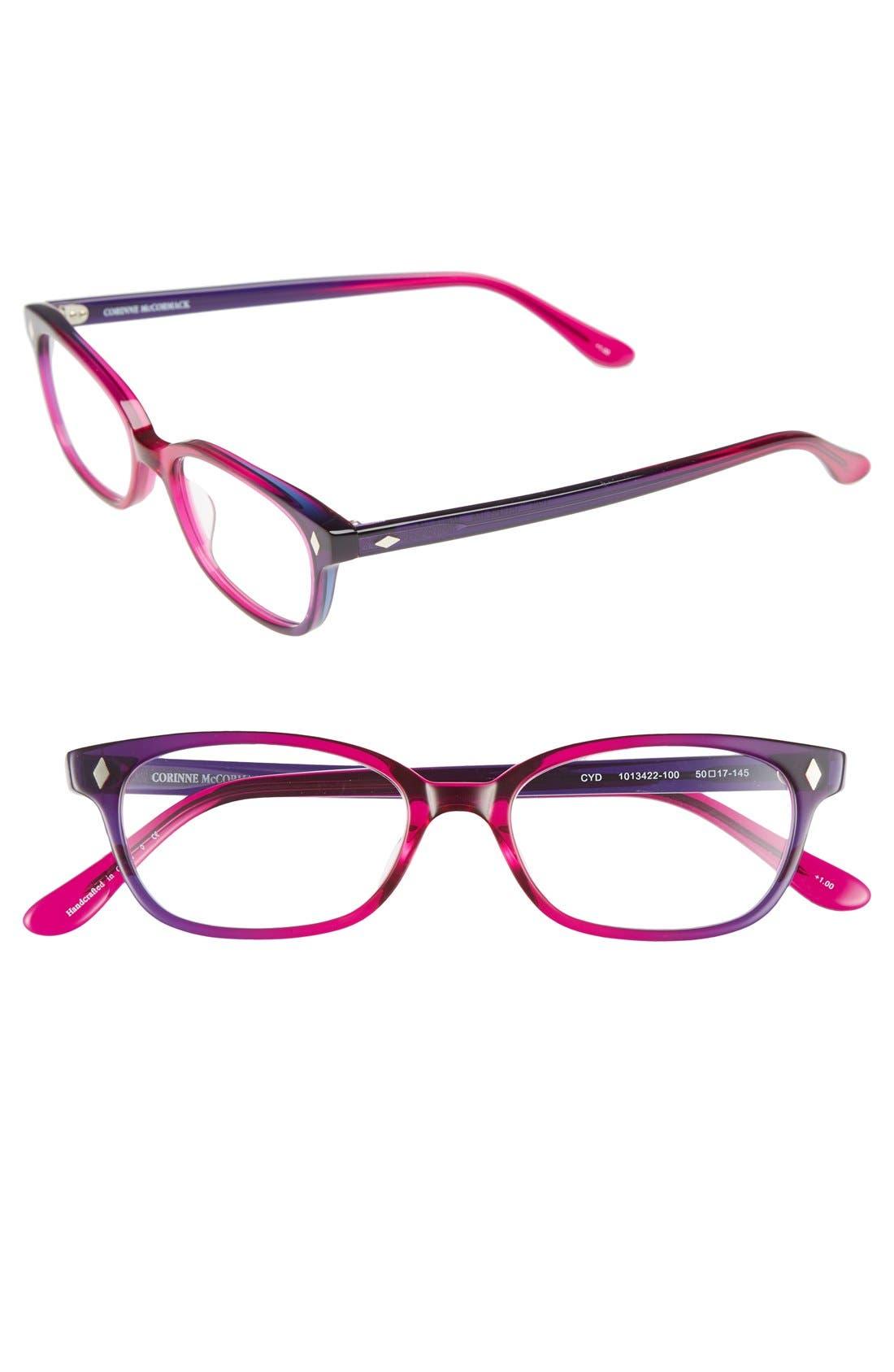 'Cyd' 50mm Reading Glasses,                             Main thumbnail 4, color,