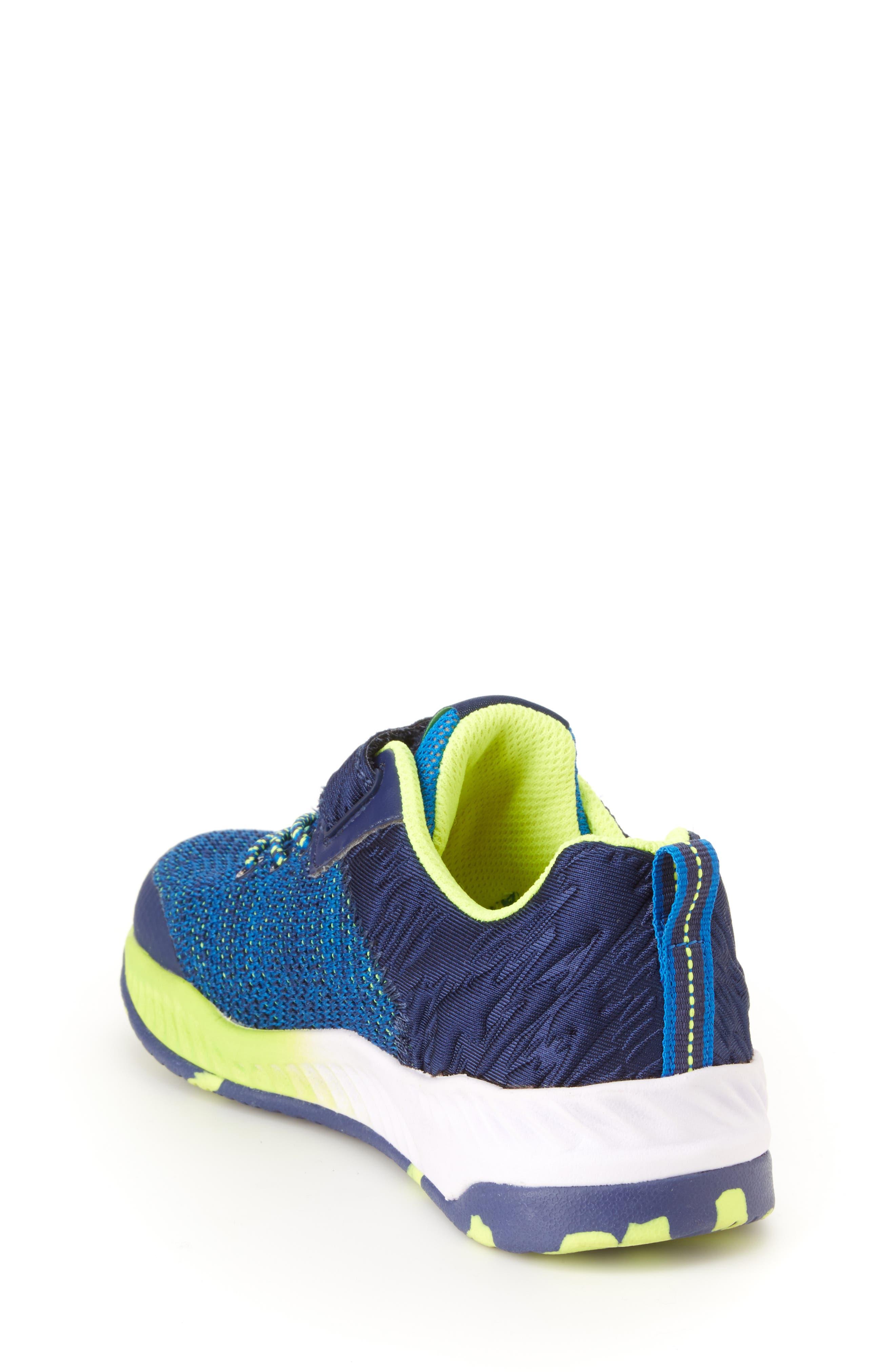Talon Knit Sneaker,                             Alternate thumbnail 2, color,                             NAVY TEXTILE