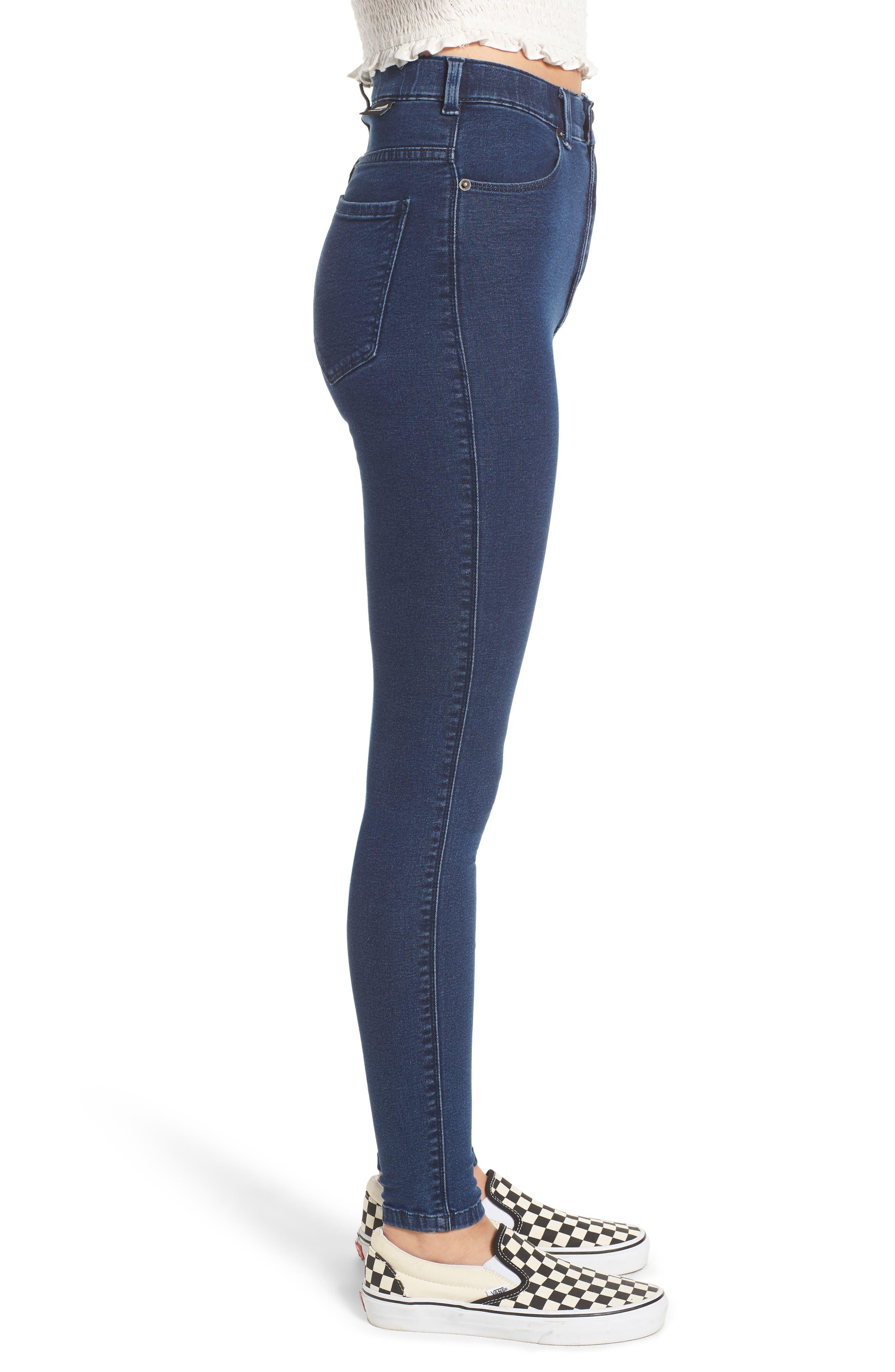 Moxy Skinny Jeans,                             Alternate thumbnail 3, color,                             400