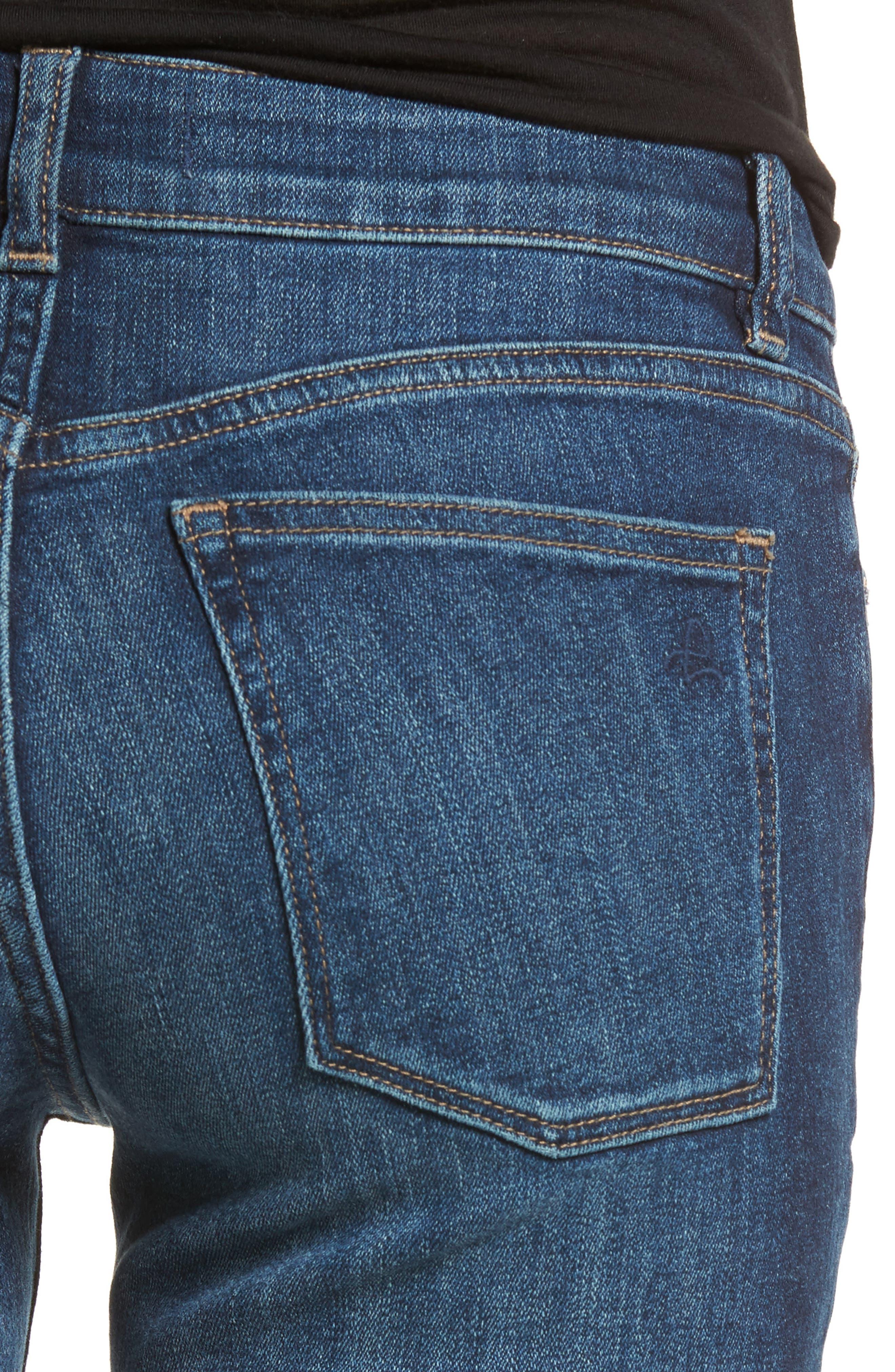 DL1961,                             Angel Instasculpt Skinny Cigarette Jeans,                             Alternate thumbnail 4, color,                             405