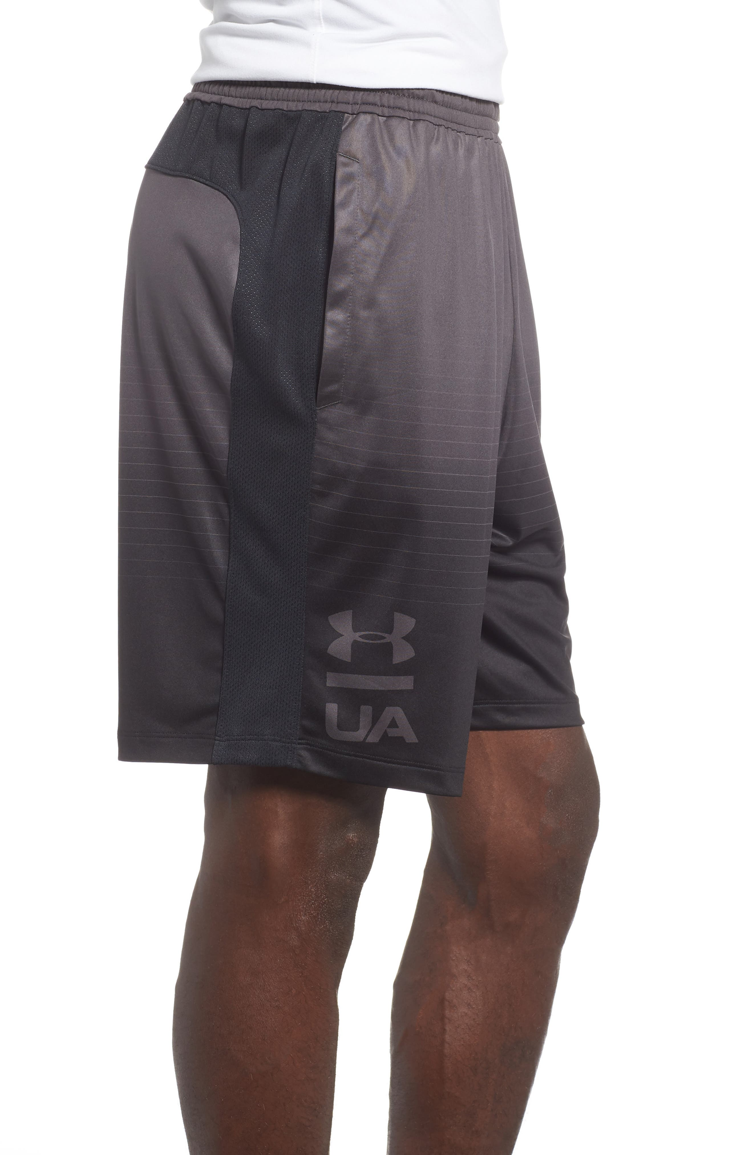 MK-1 Fade Shorts,                             Alternate thumbnail 3, color,                             CHARCOAL