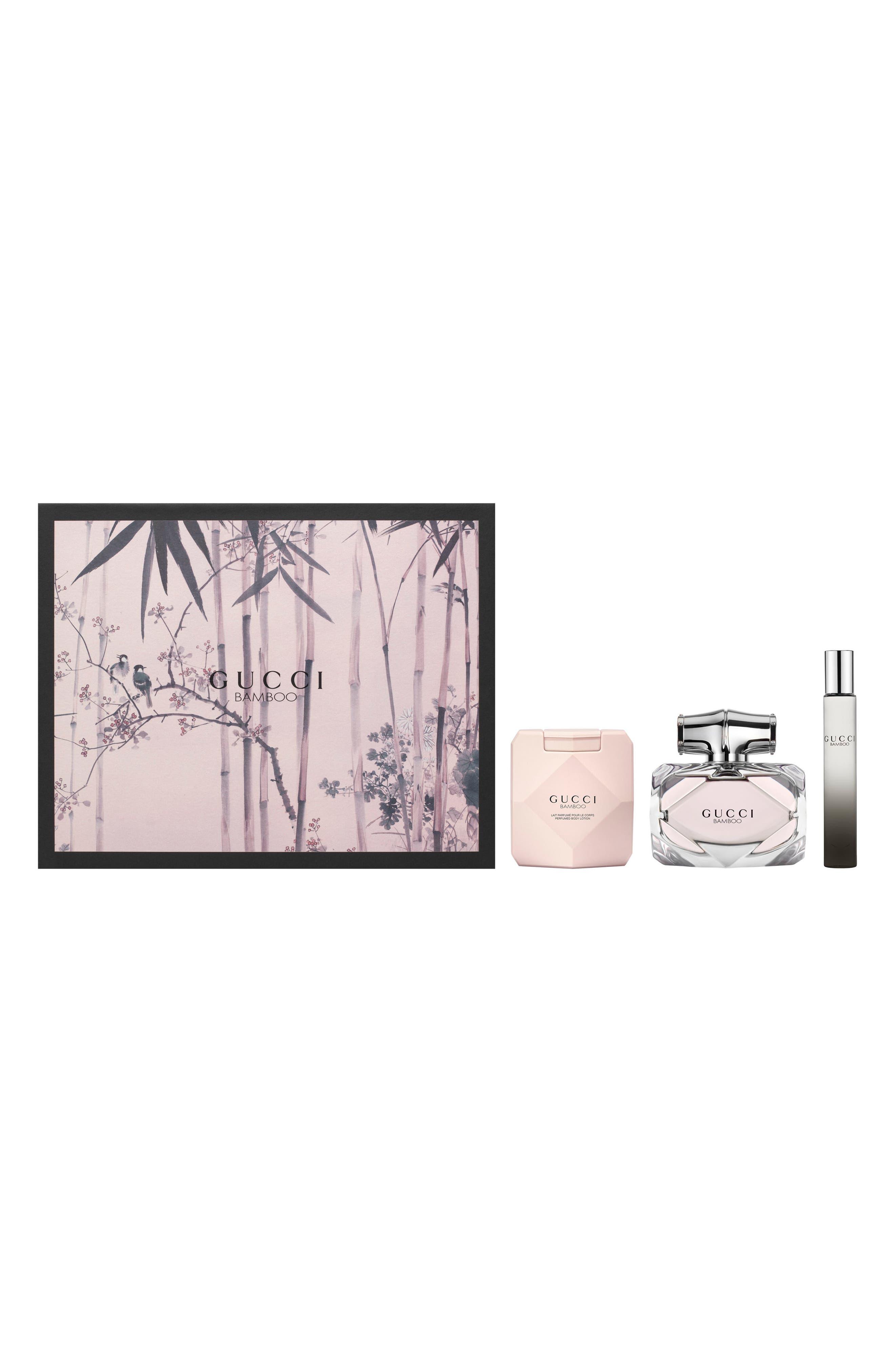 Bamboo Eau de Parfum Set,                             Main thumbnail 1, color,                             000