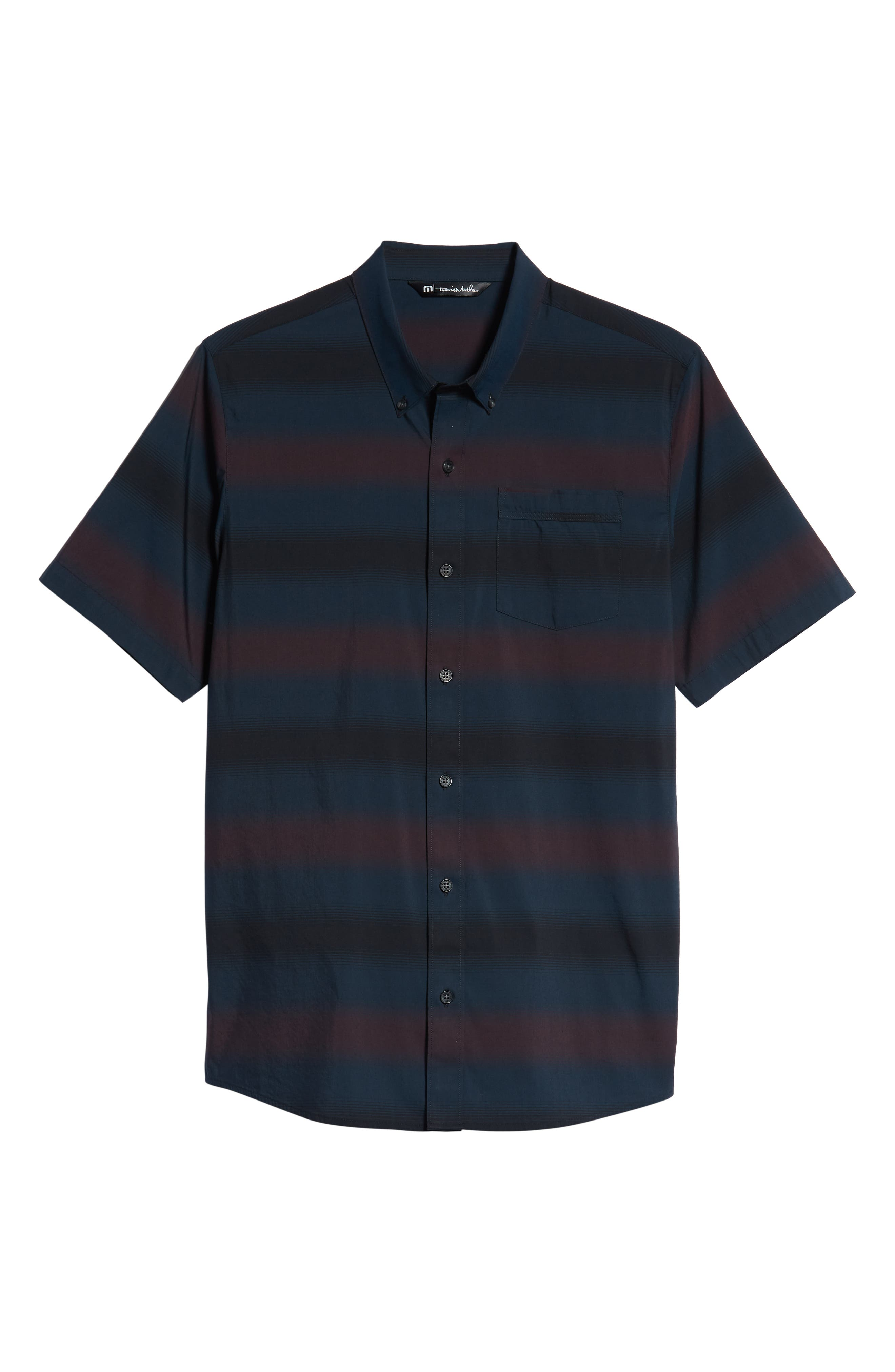 Magic Castle Regular Fit Sport Shirt,                             Alternate thumbnail 5, color,                             BLUE WING TEAL