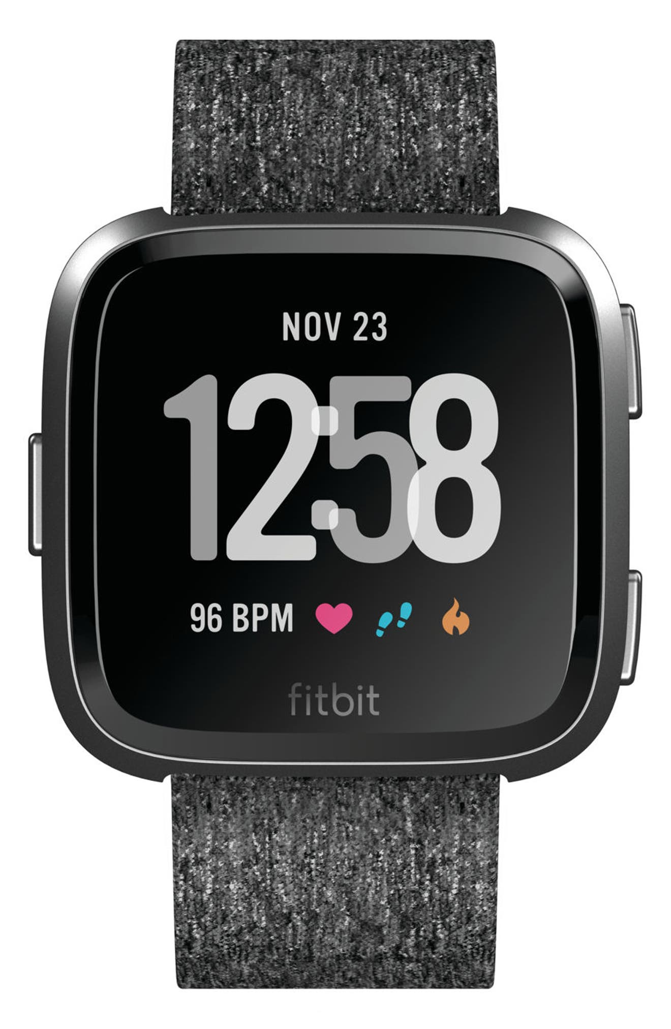Versa Special Edition Smartwatch,                             Alternate thumbnail 2, color,                             CHARCOAL