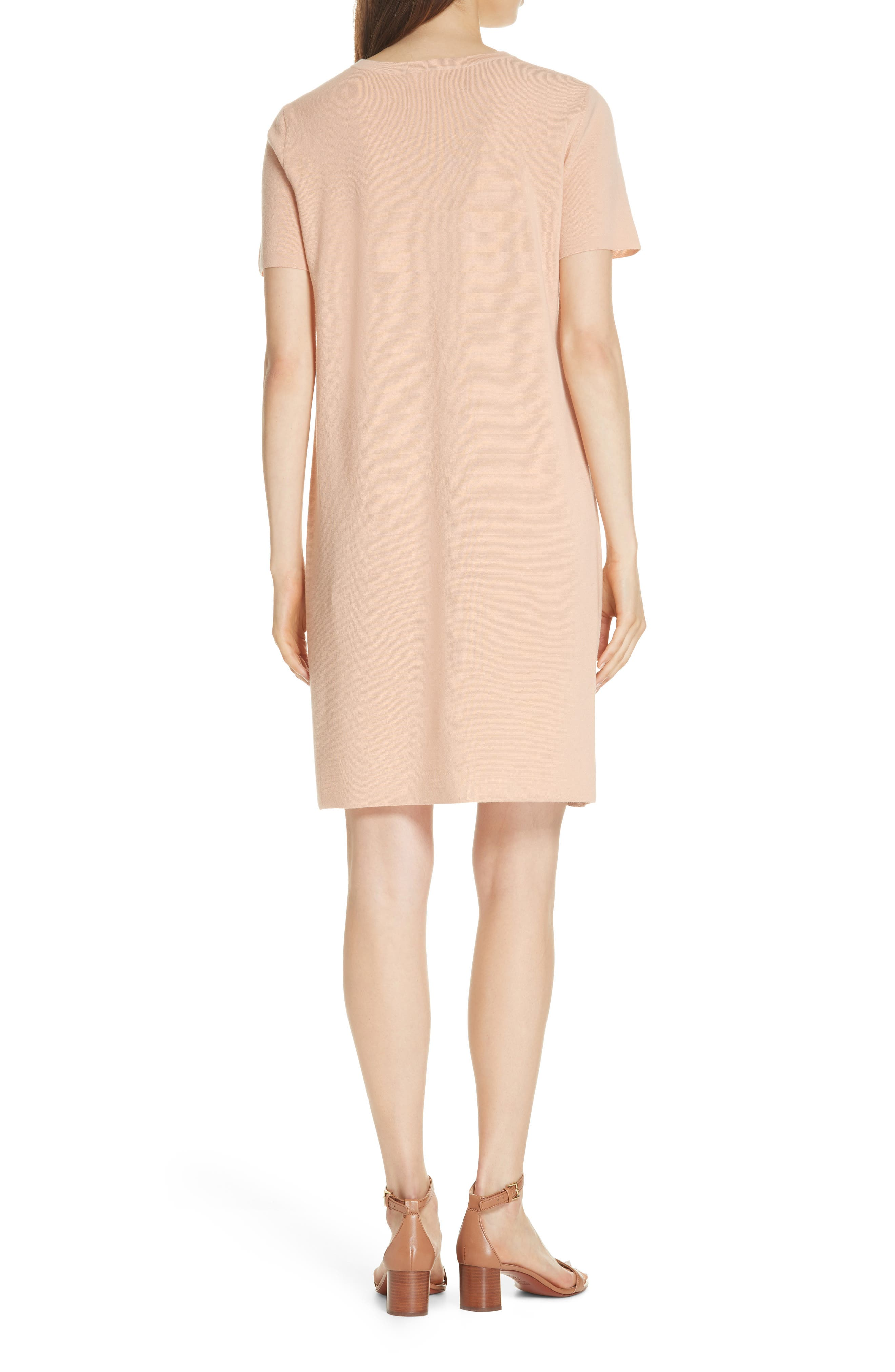 Jonah Jacquard Front Sweater Dress,                             Alternate thumbnail 2, color,                             ALABASTER